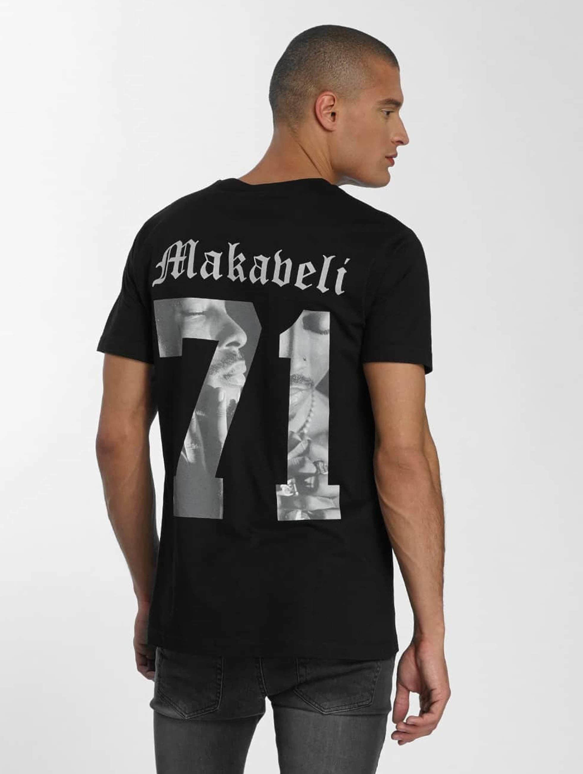 Mister Tee T-Shirty Tupac Makaveli czarny