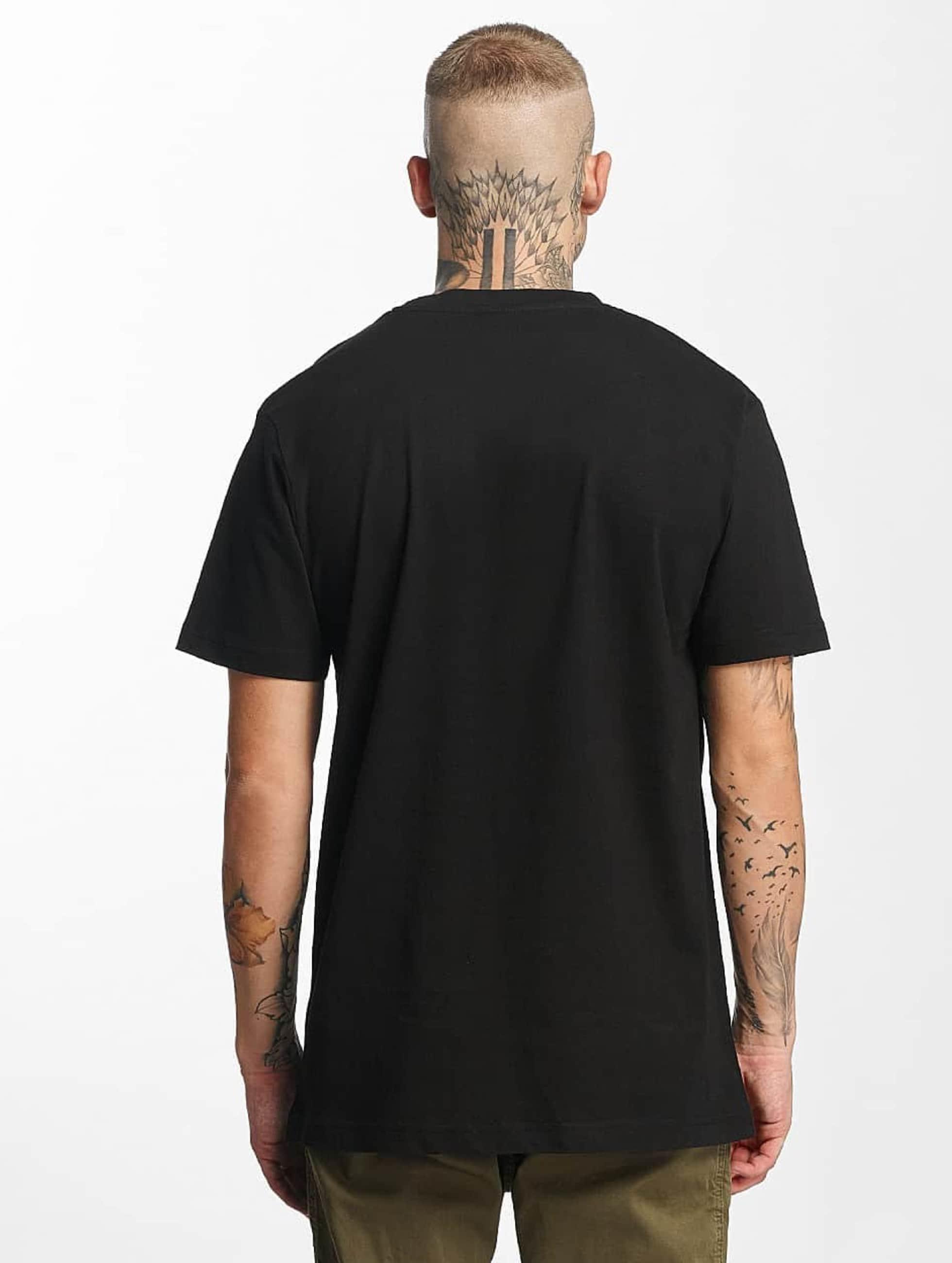 Mister Tee T-Shirty Bob Marley Roots czarny