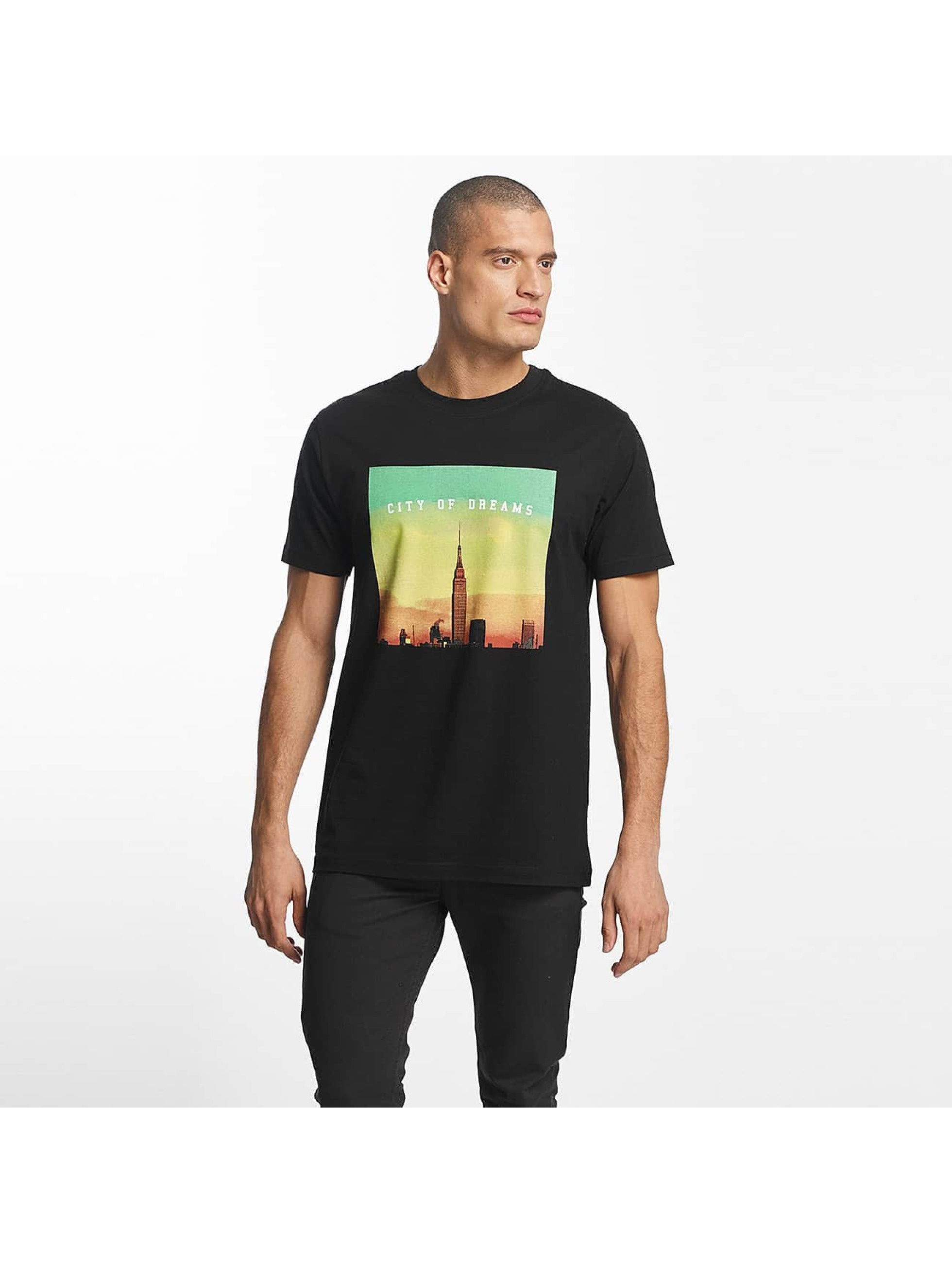 Mister Tee T-Shirty City of Dreams czarny