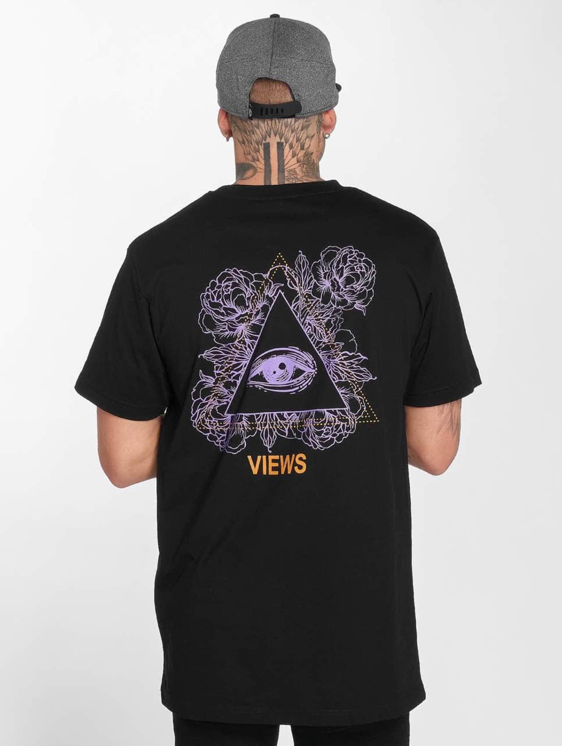 Mister Tee T-Shirty Views czarny