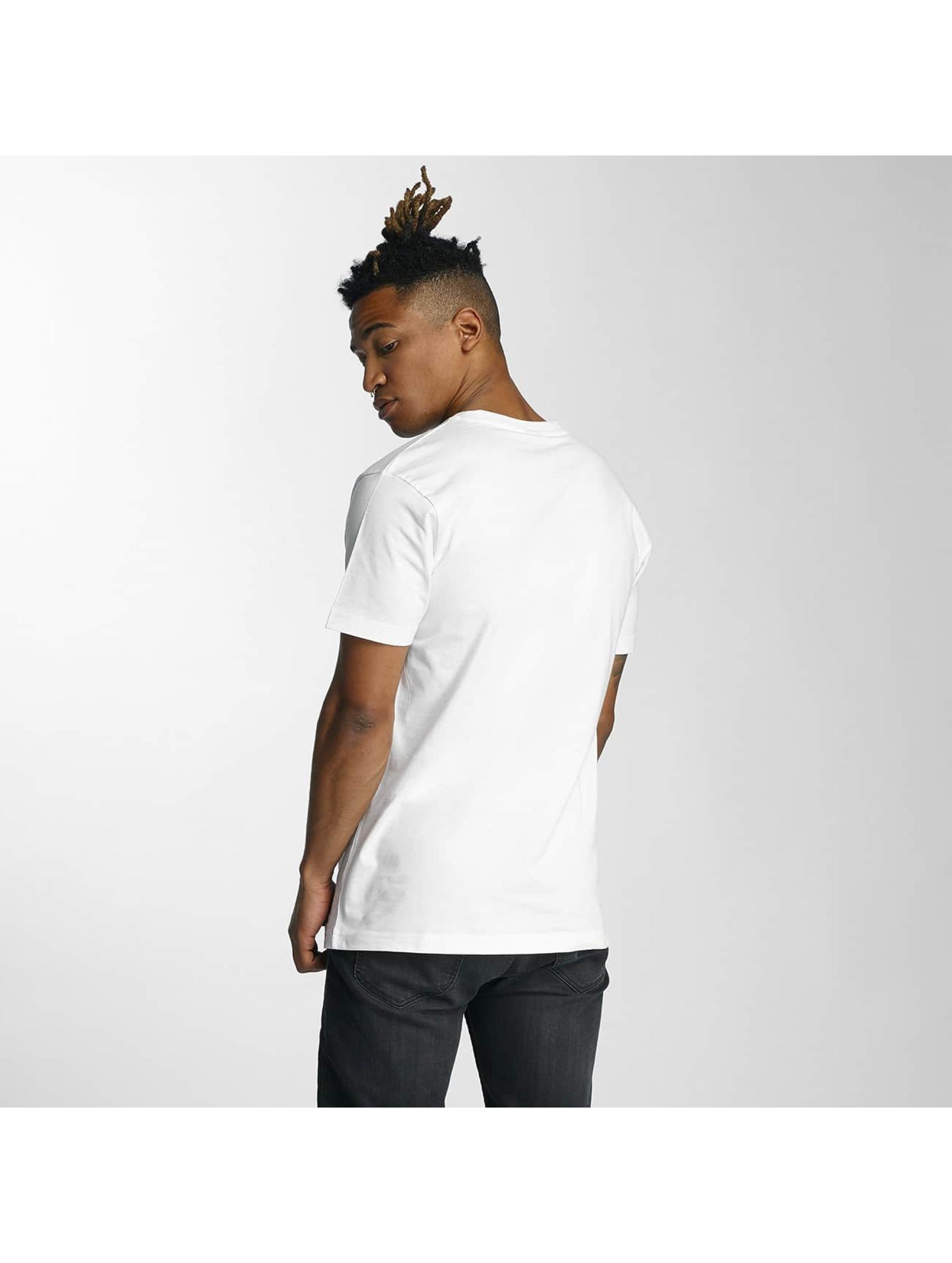 Mister Tee T-skjorter Nasty hvit