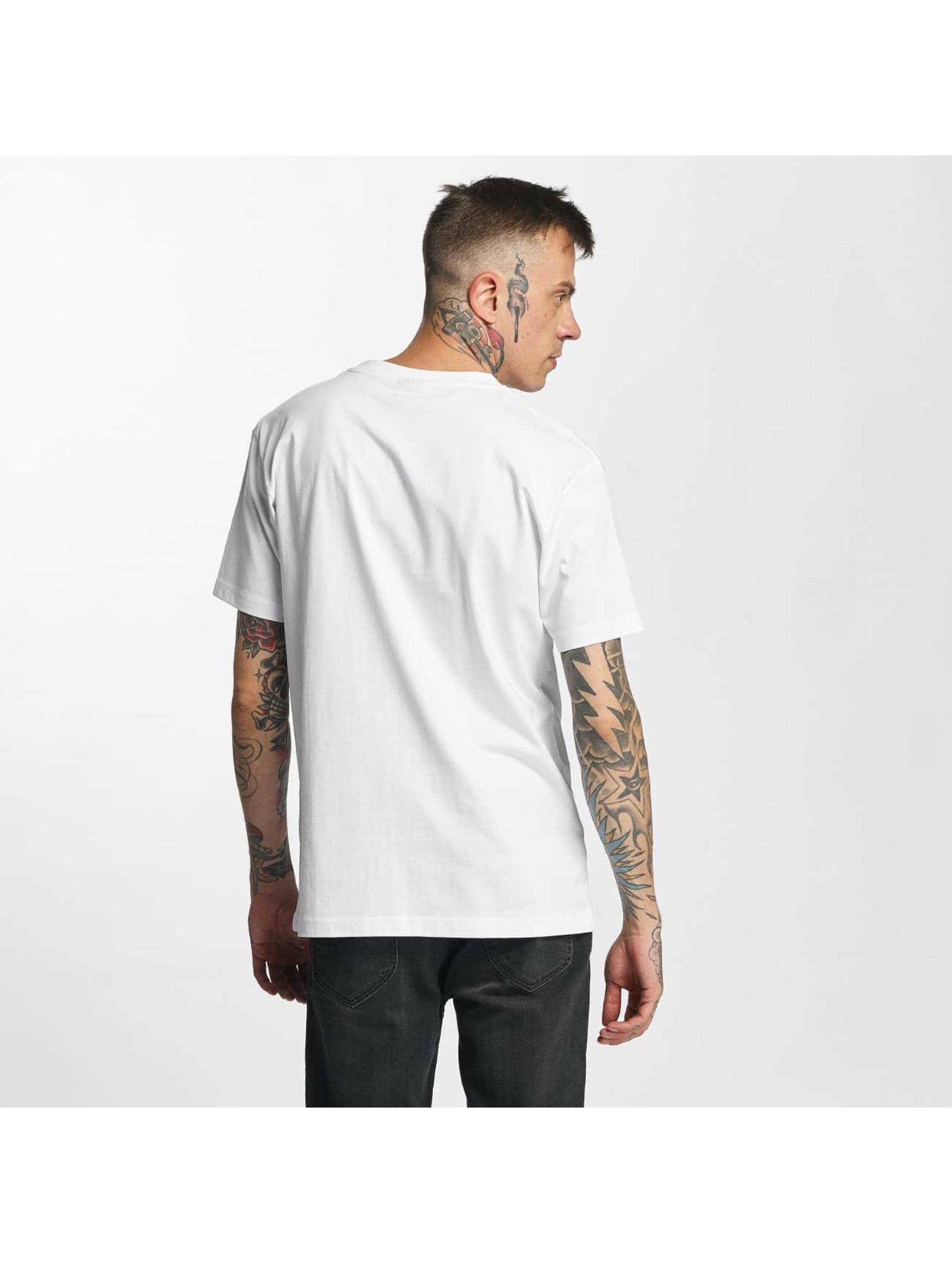 Mister Tee T-skjorter Brooklyn hvit