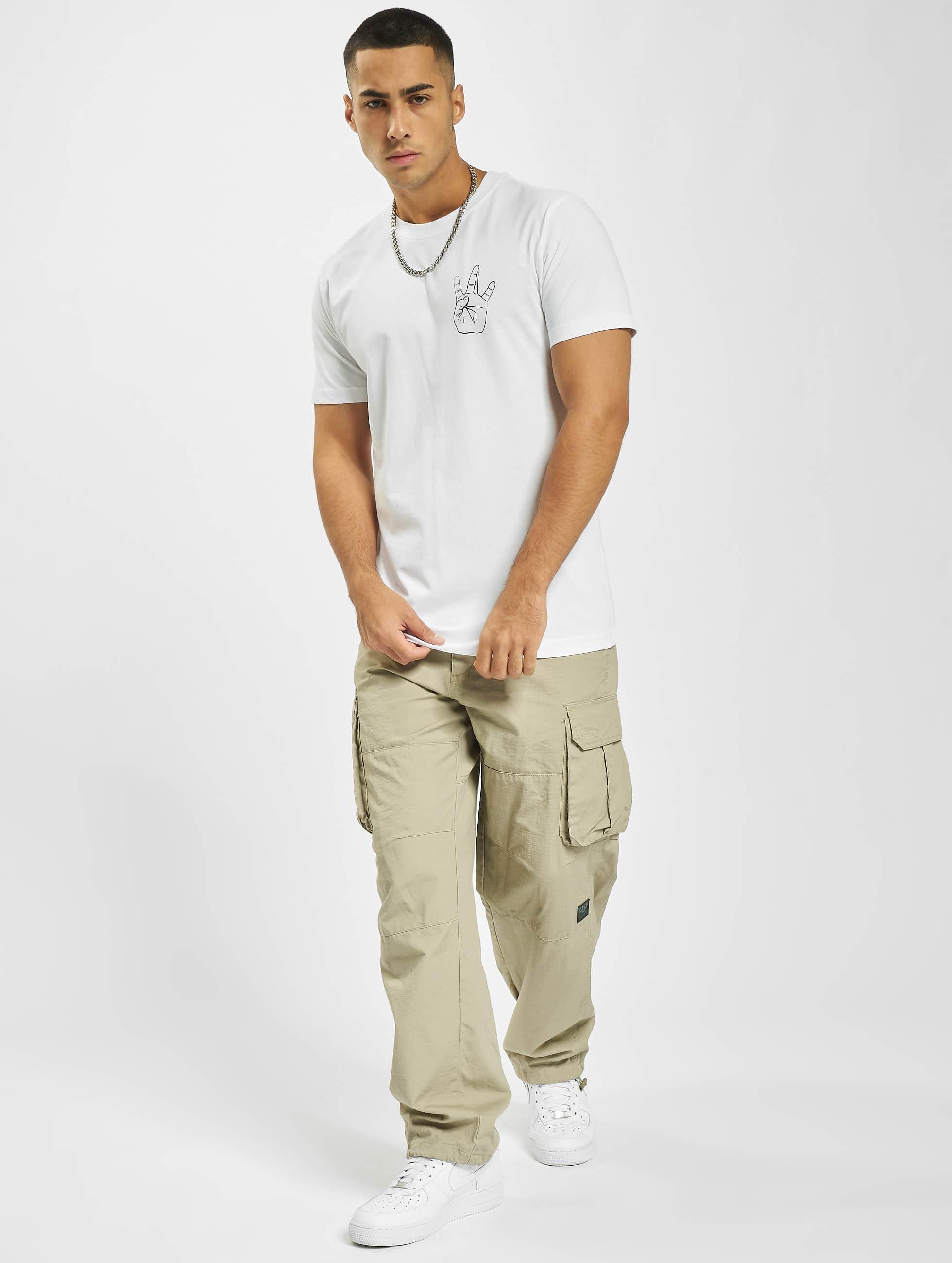 Mister Tee T-skjorter Westside hvit