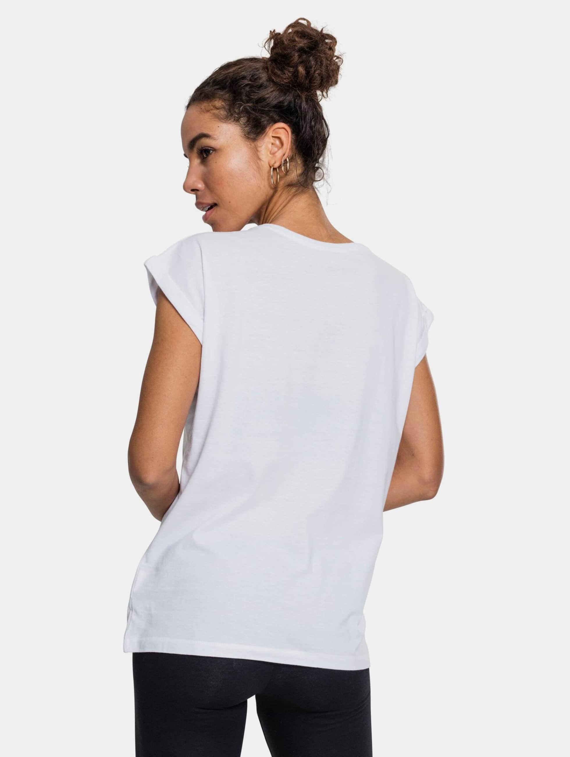 Mister Tee T-skjorter GRL PWR hvit
