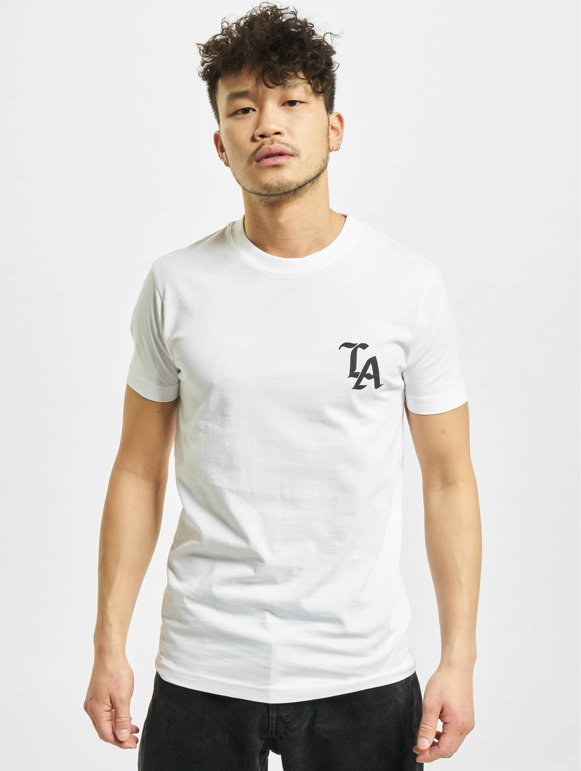 Mister Tee T-skjorter LA hvit