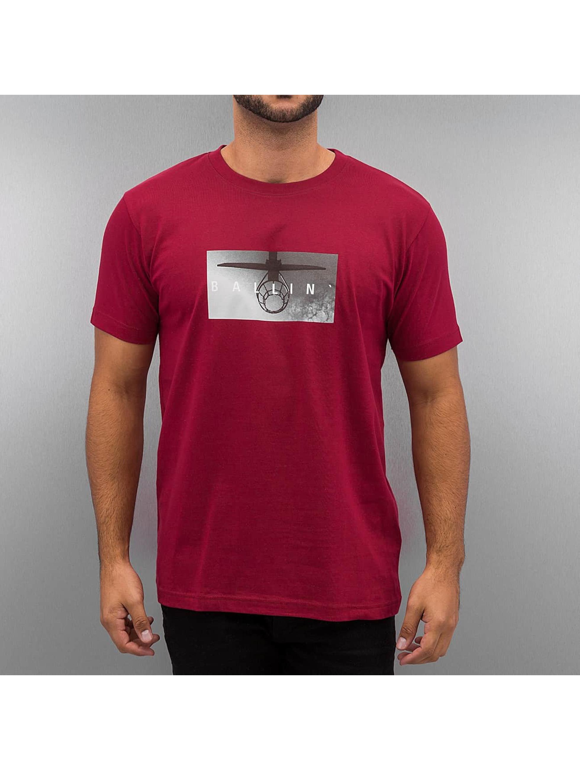 Mister Tee T-skjorter Ballin red
