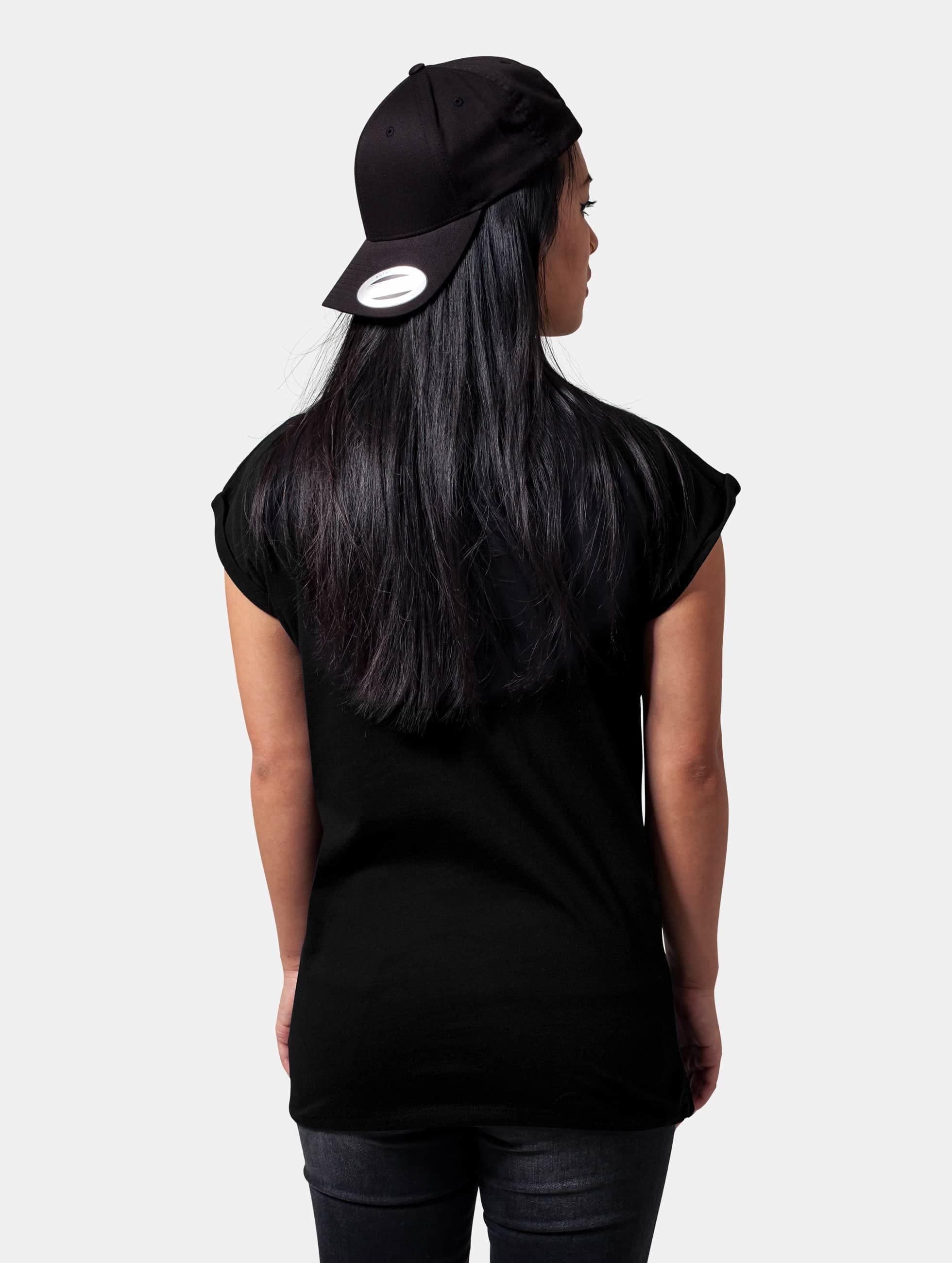 Mister Tee T-skjorter Ladies The Doors Warm svart