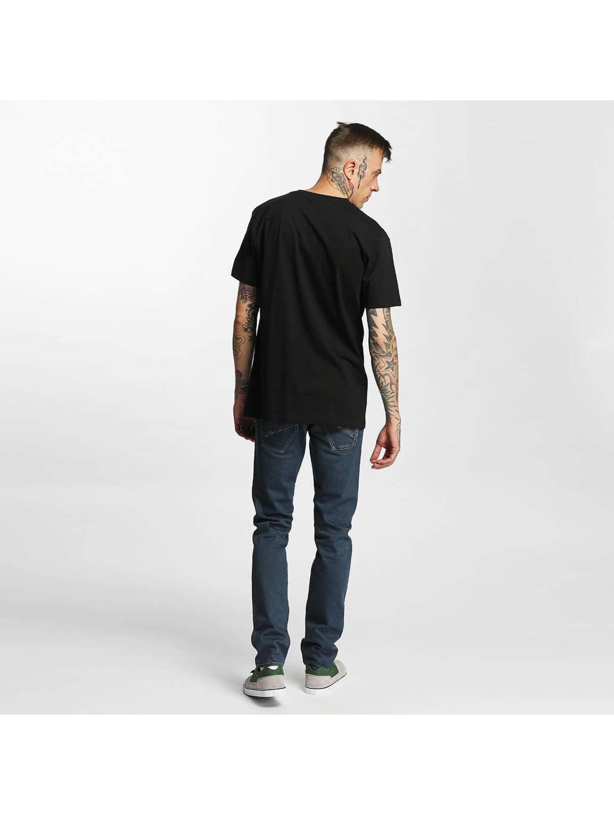 Mister Tee T-skjorter LA Rose svart