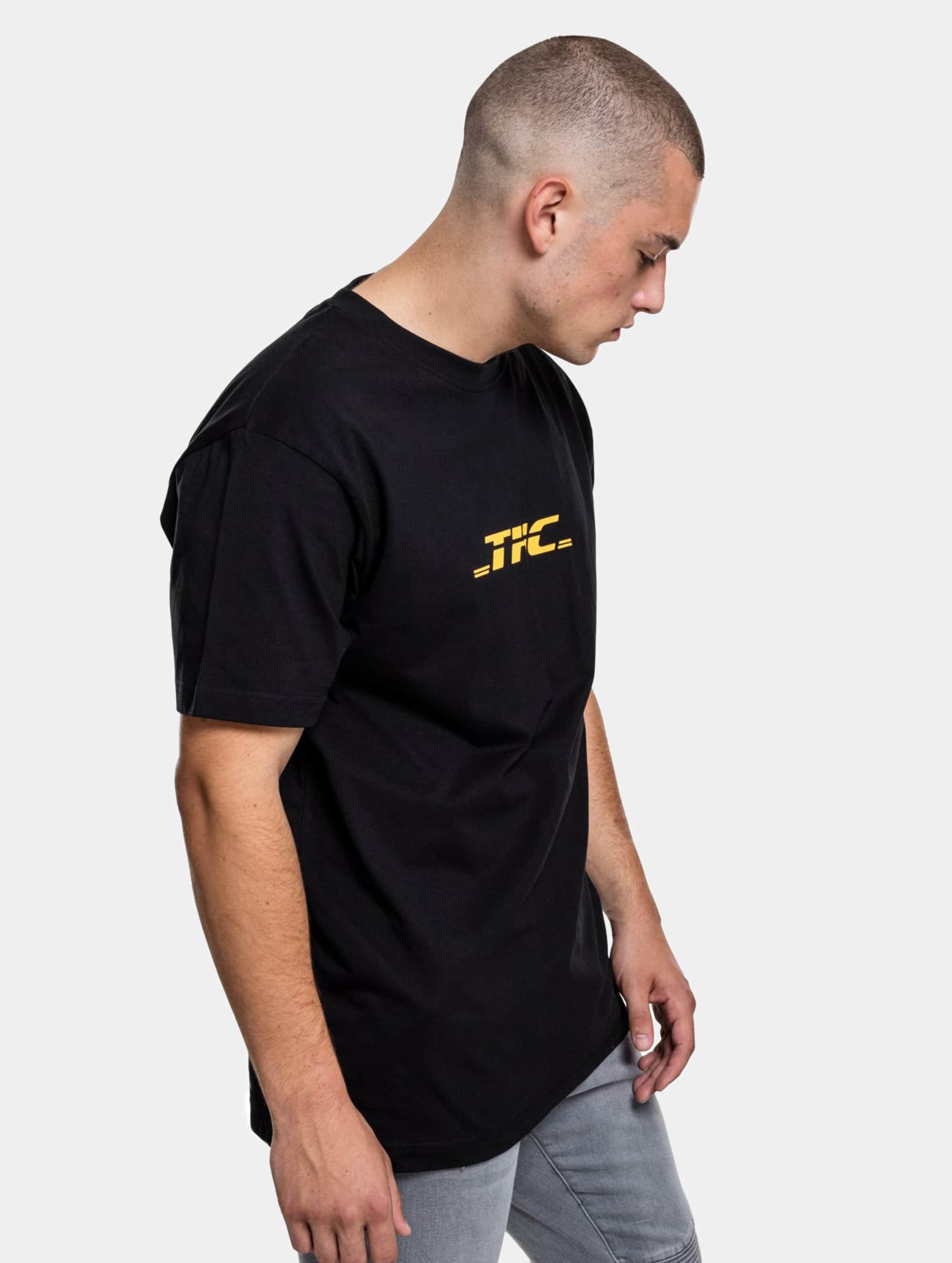 Mister Tee T-skjorter THC svart