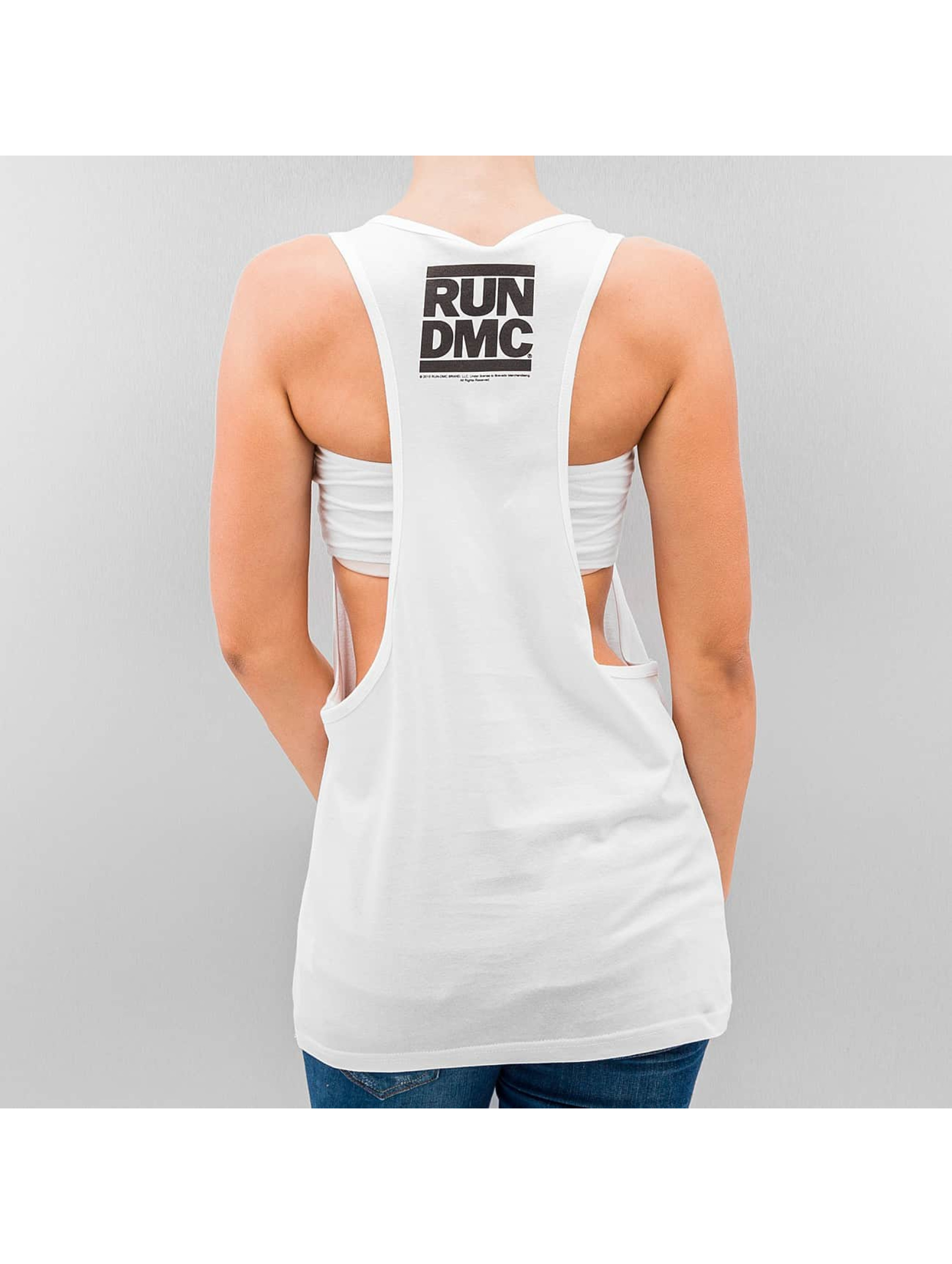 Mister Tee Tank Tops un DMC Logo белый