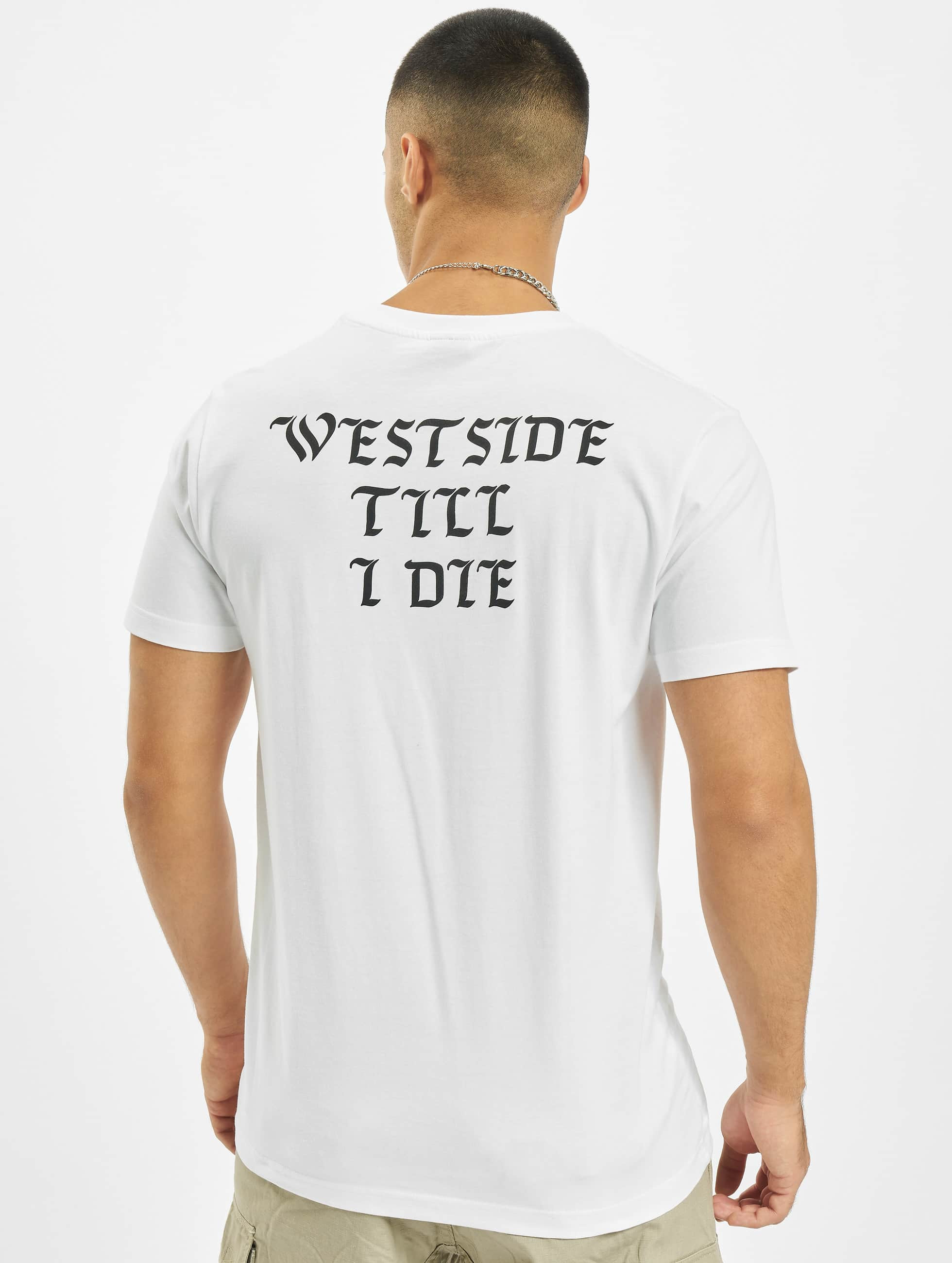 Mister Tee Tričká Westside biela