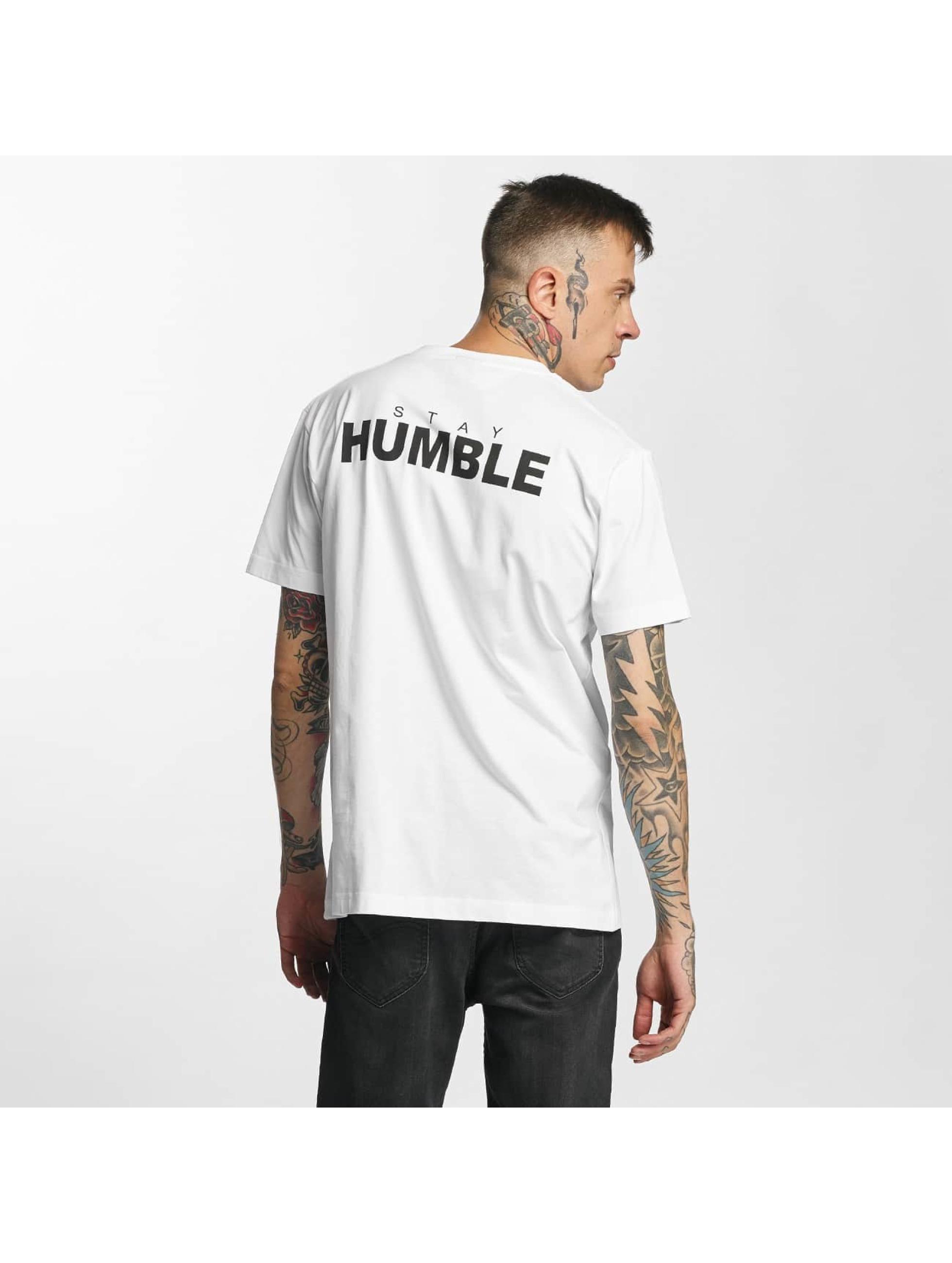 Mister Tee Tričká Humble biela