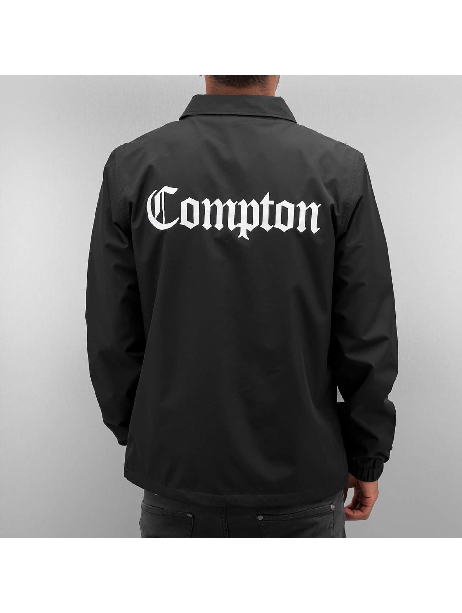Mister Tee Välikausitakit Compton Coach musta