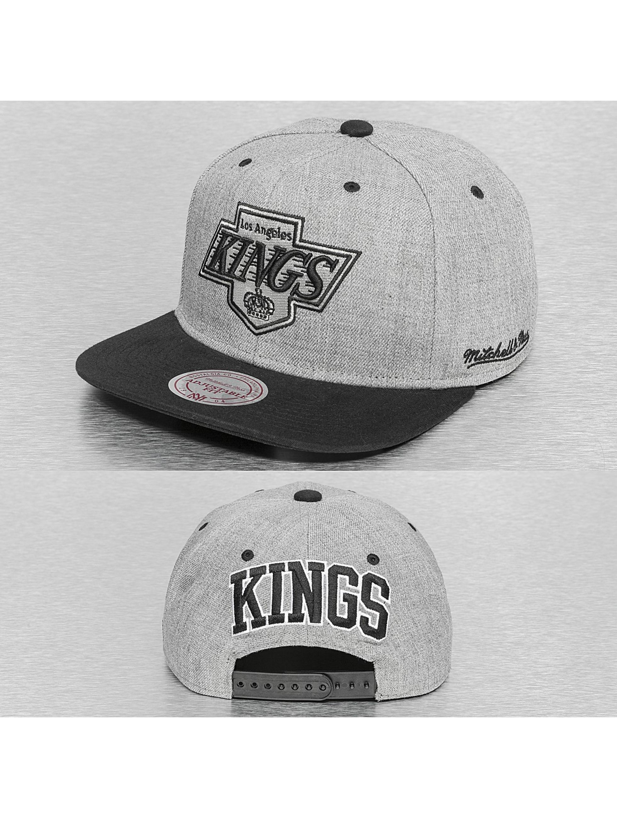Mitchell & Ness Кепка с застёжкой Back Board LA Kings серый