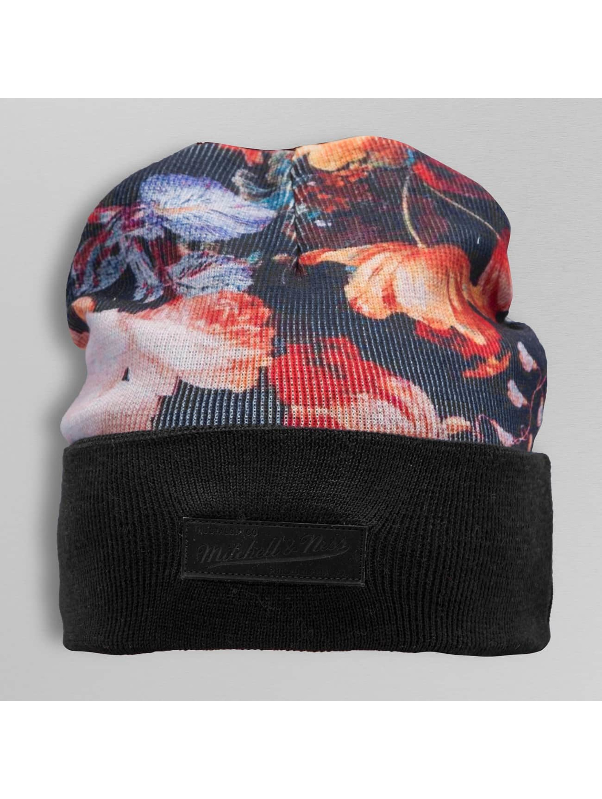 Mitchell & Ness Beanie Antique Floral Cuff Knit colored