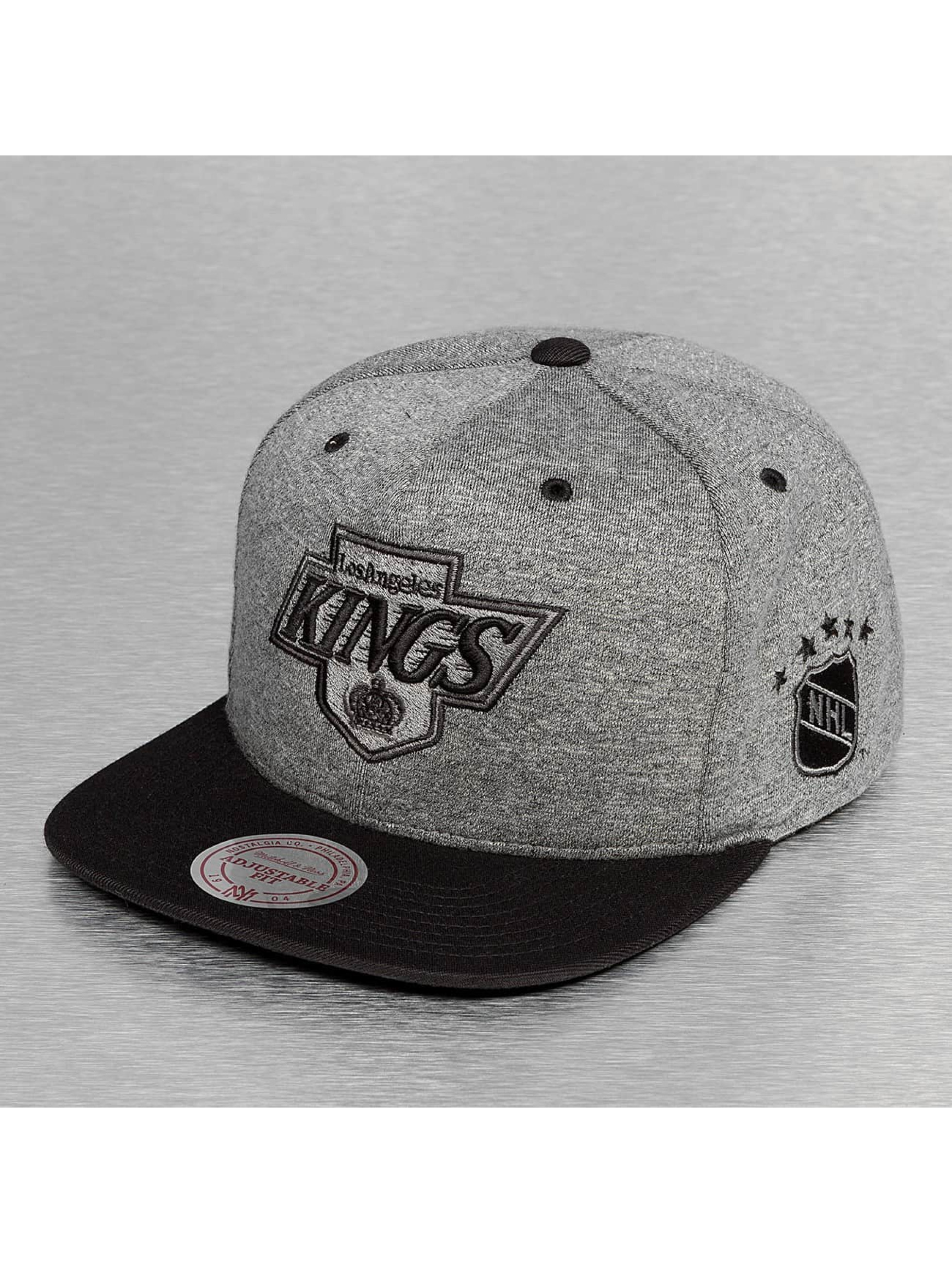 Mitchell & Ness Casquette Snapback & Strapback Broad LA Kings gris