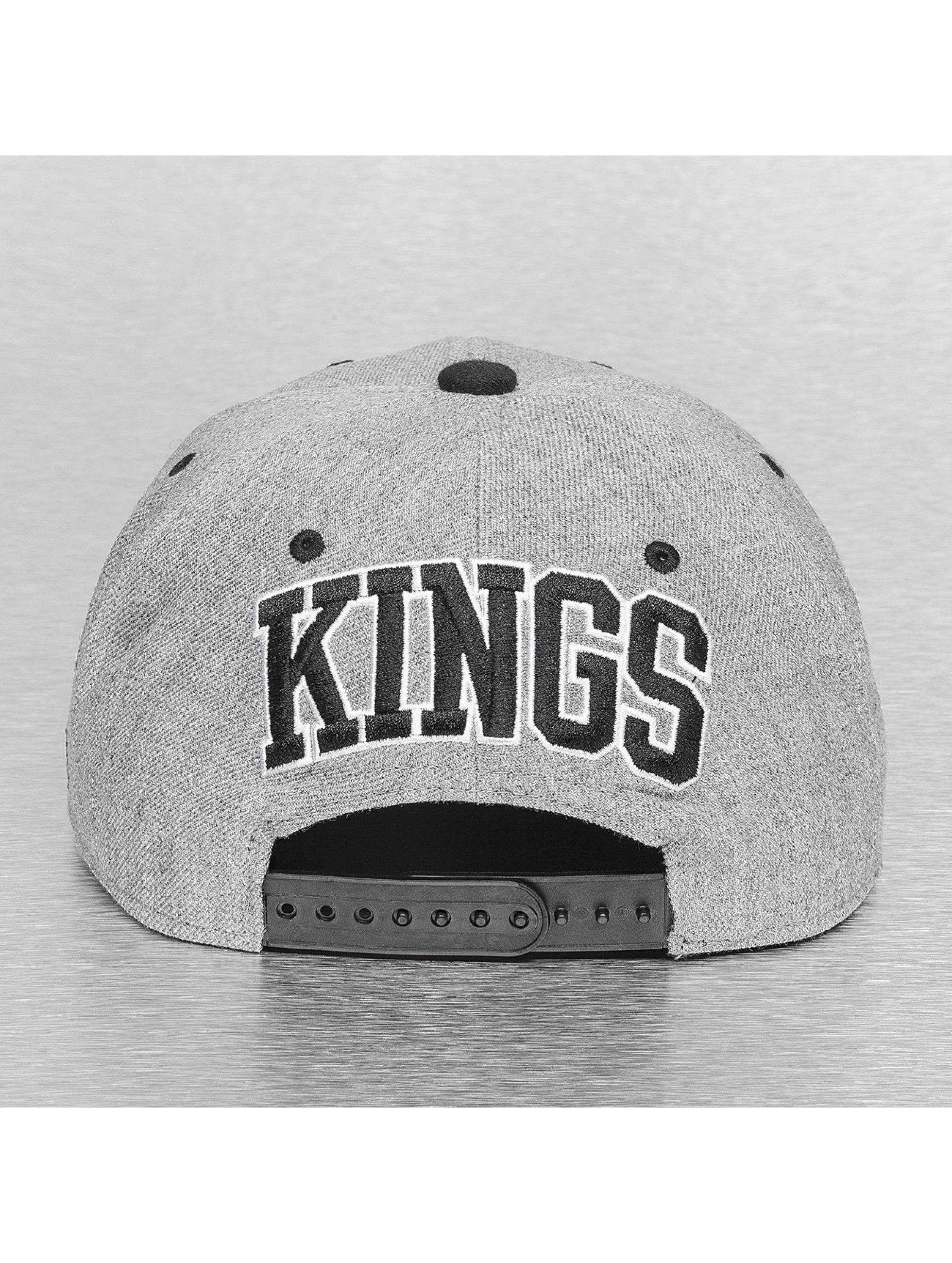 Mitchell & Ness Casquette Snapback & Strapback Back Board LA Kings gris