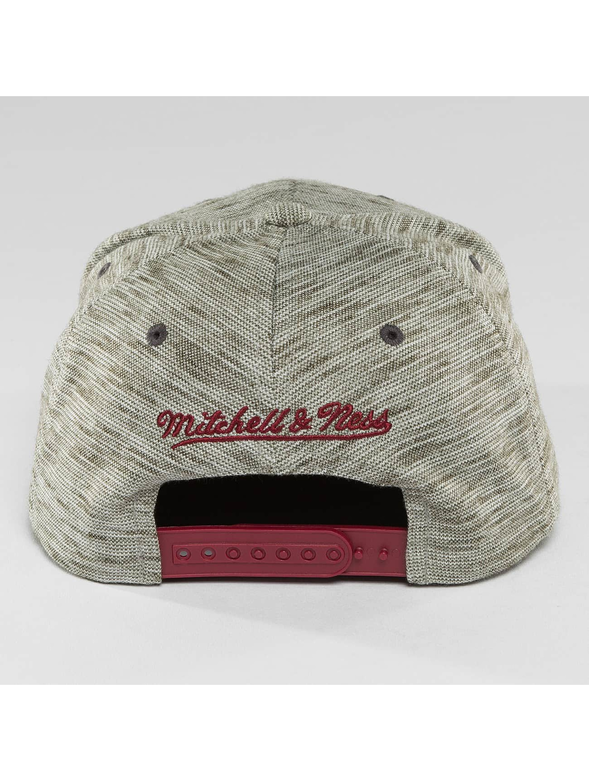 Mitchell & Ness Casquette Snapback & Strapback NBA Brushed Melange Cleveland Cavaliers gris