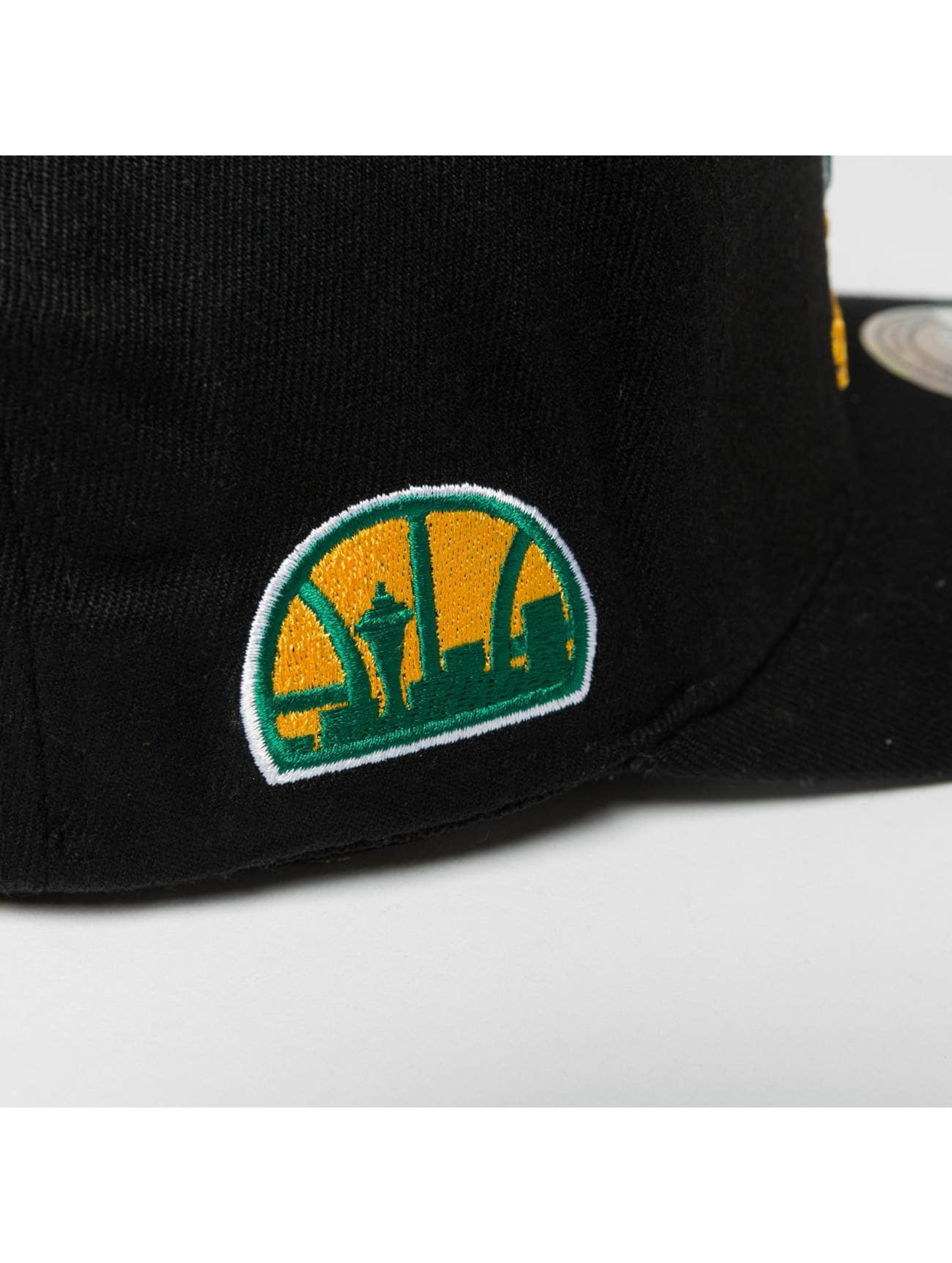 Mitchell & Ness Casquette Snapback & Strapback NBA HWC Eazy 110 Curved Seattle Supersonics noir