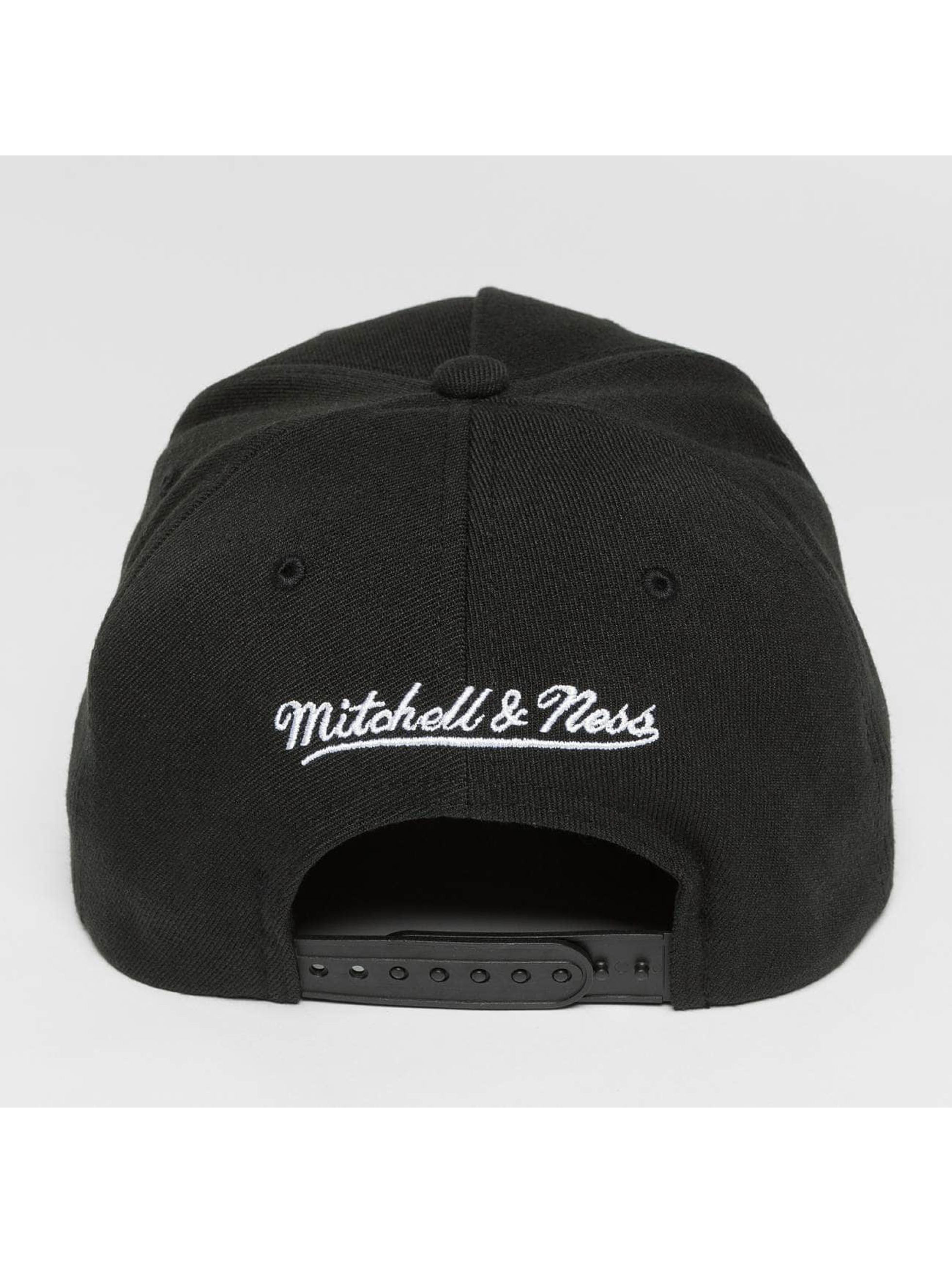 Mitchell & Ness Casquette Snapback & Strapback NBA Denim Visor Chicago Bulls noir