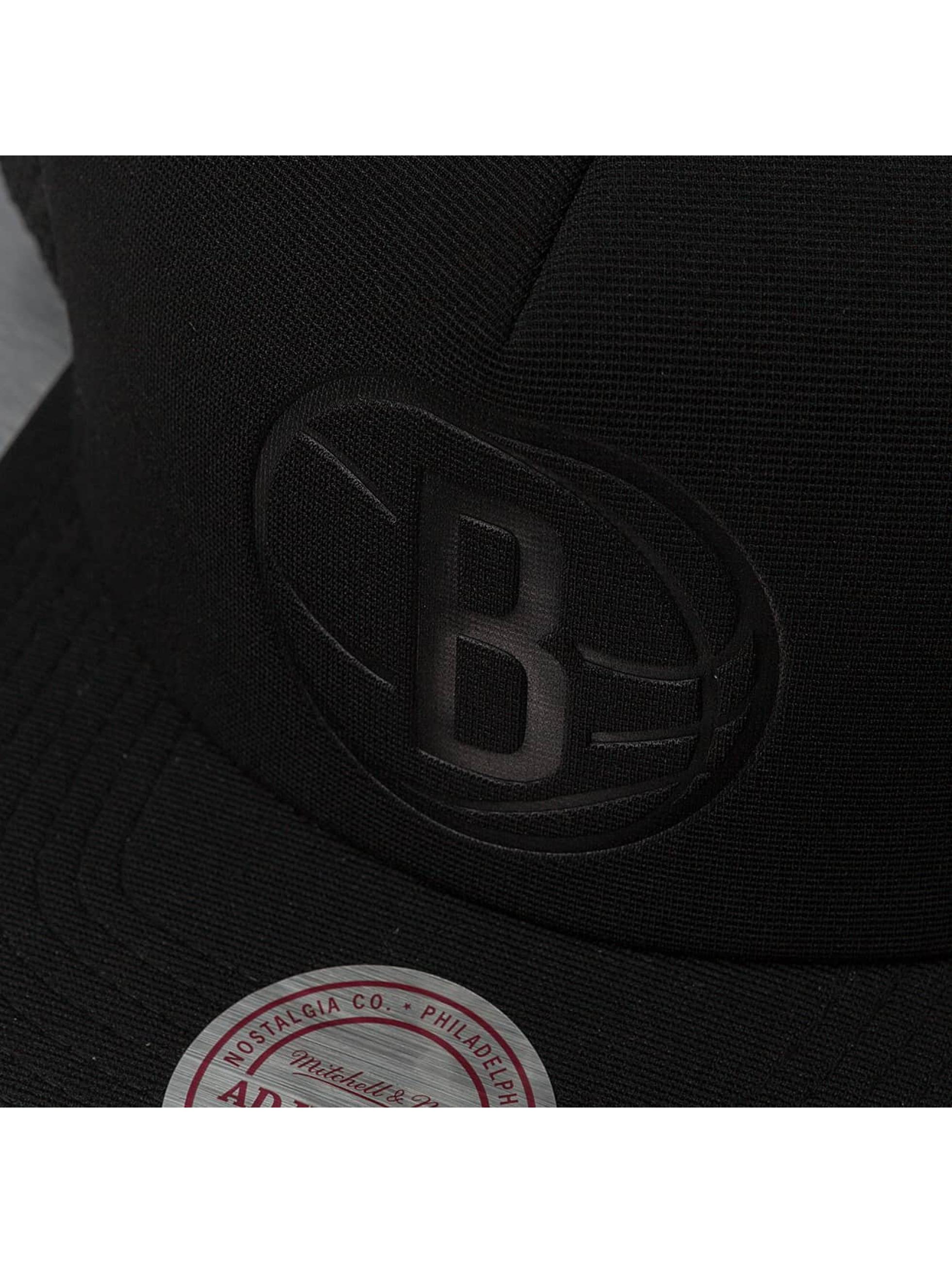 Mitchell & Ness Casquette Trucker mesh Tonal D-M Brooklyn Nets noir