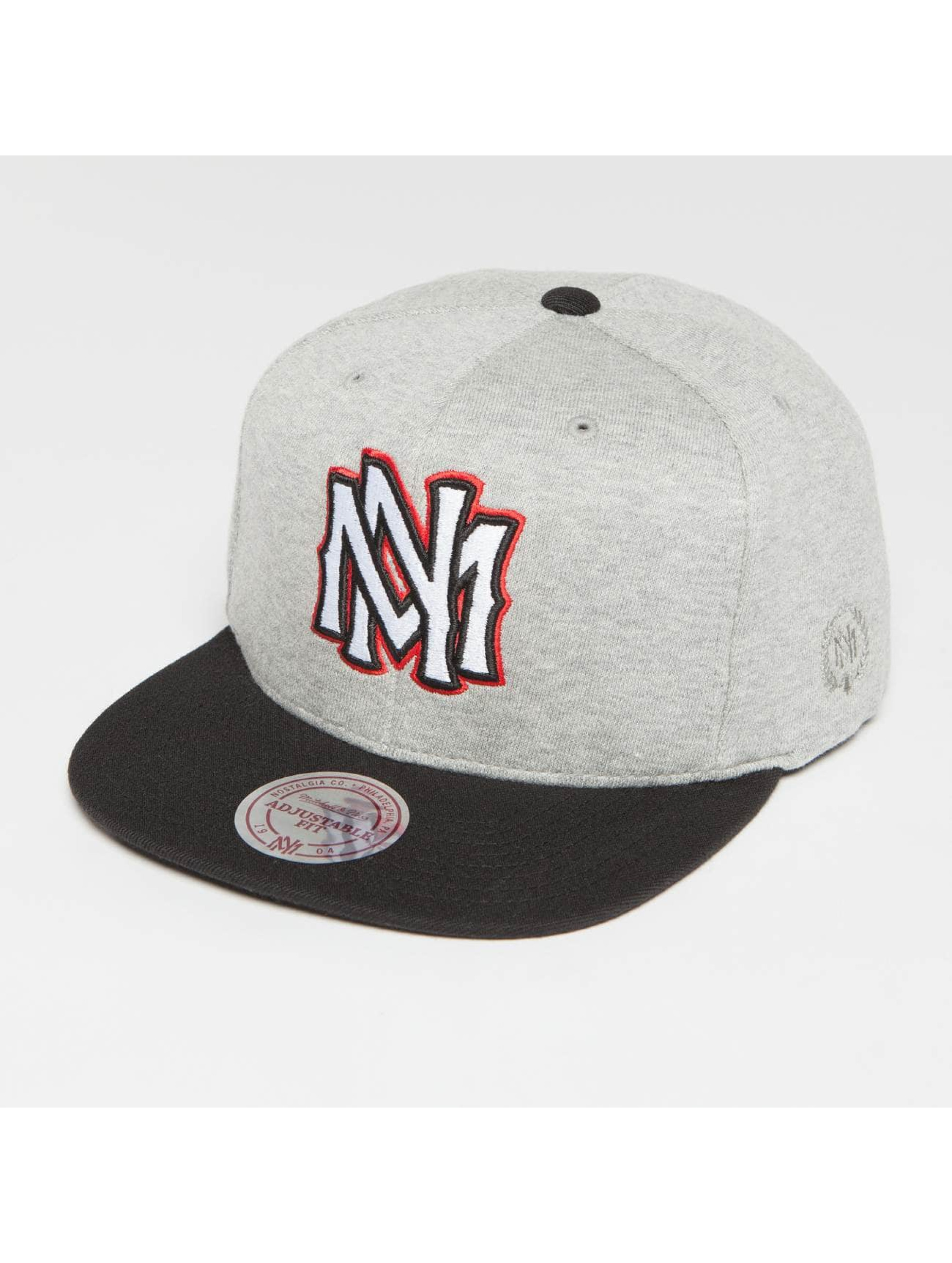 Mitchell & Ness Gorra Snapback The 3-Tone gris