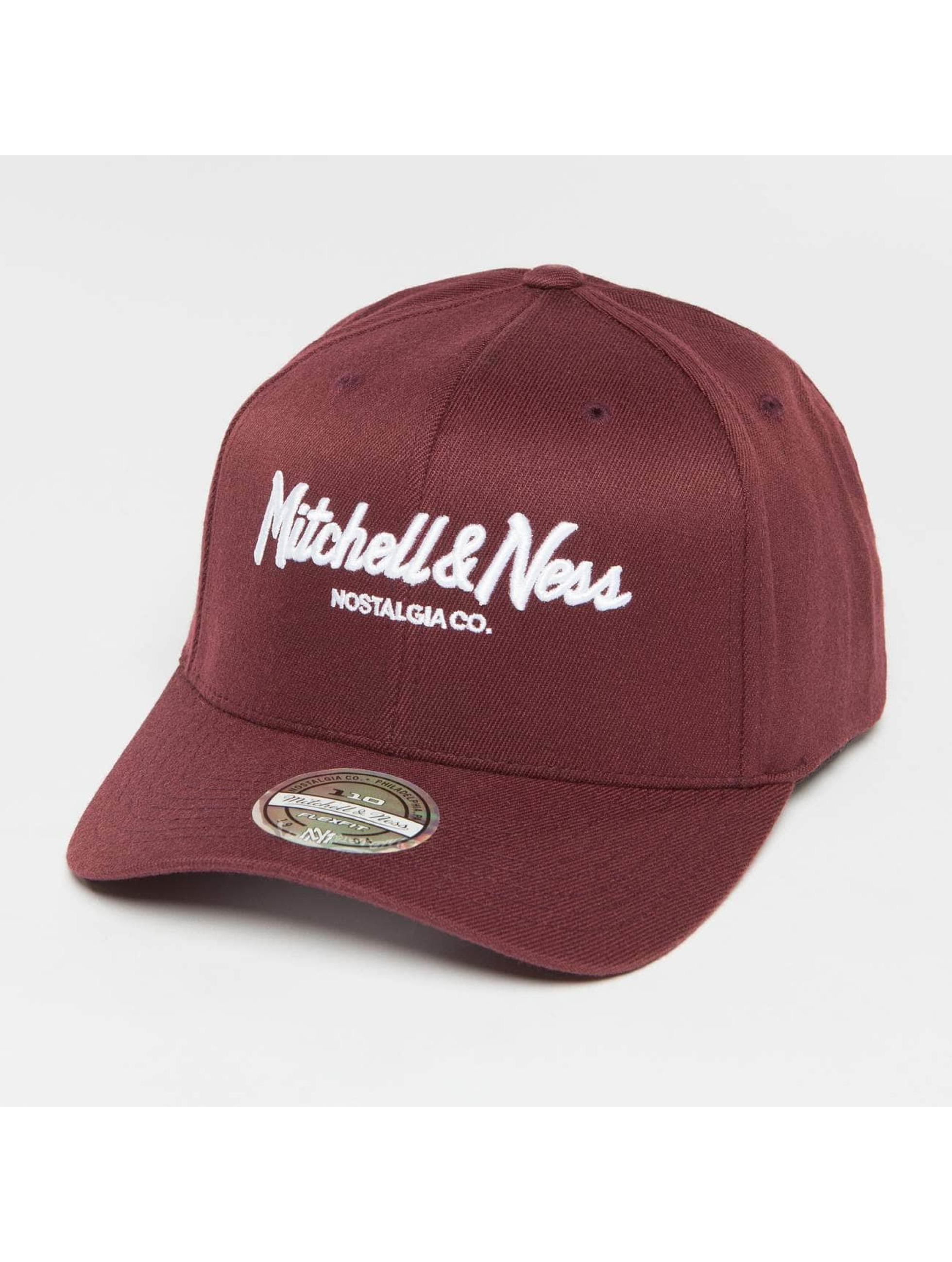 Mitchell & Ness Gorra Snapback Own Brand Pinscript High Crown 110 rojo