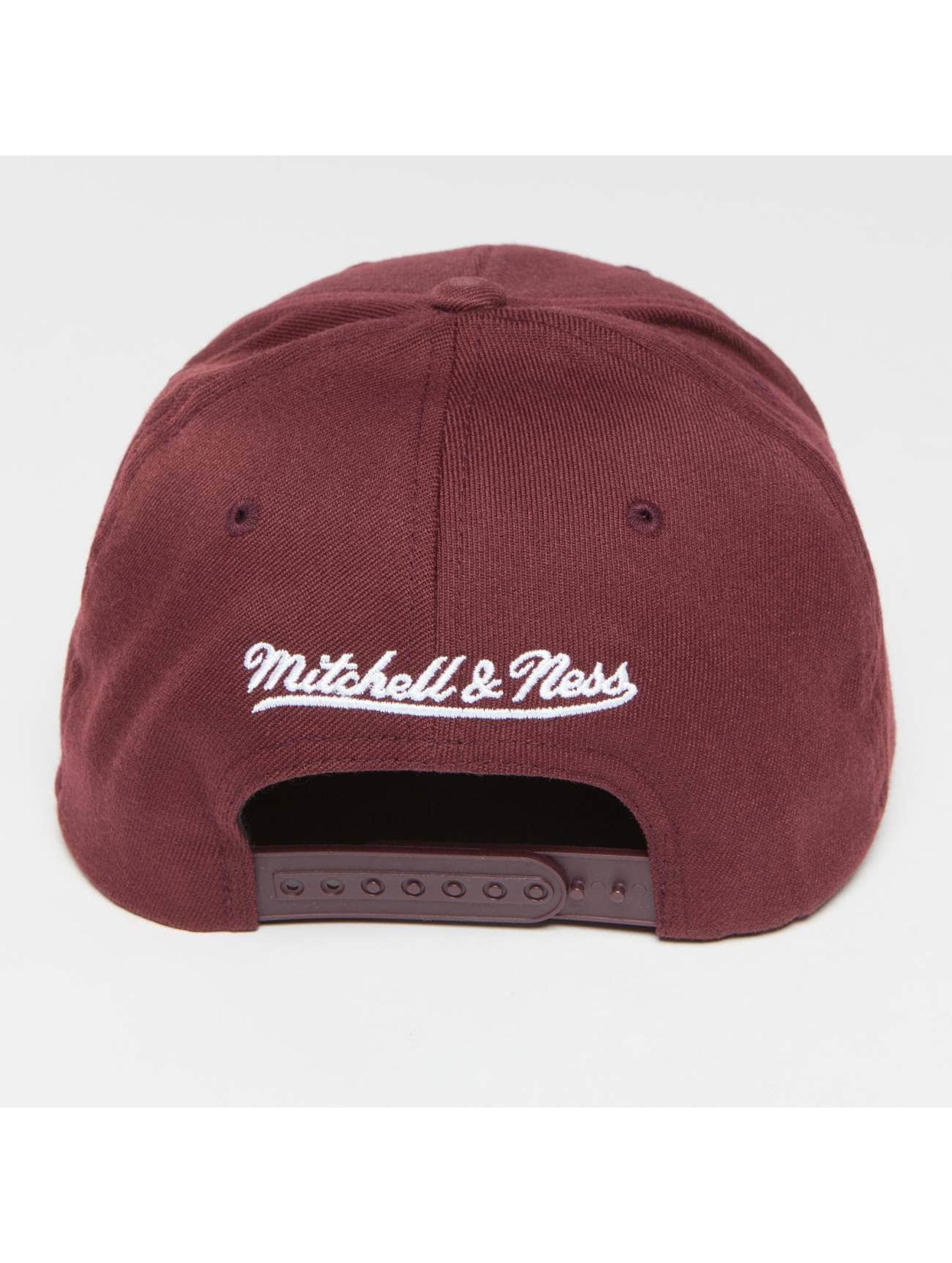 Mitchell & Ness Snapback Own Brand Pinscript High Crown 110 èervená