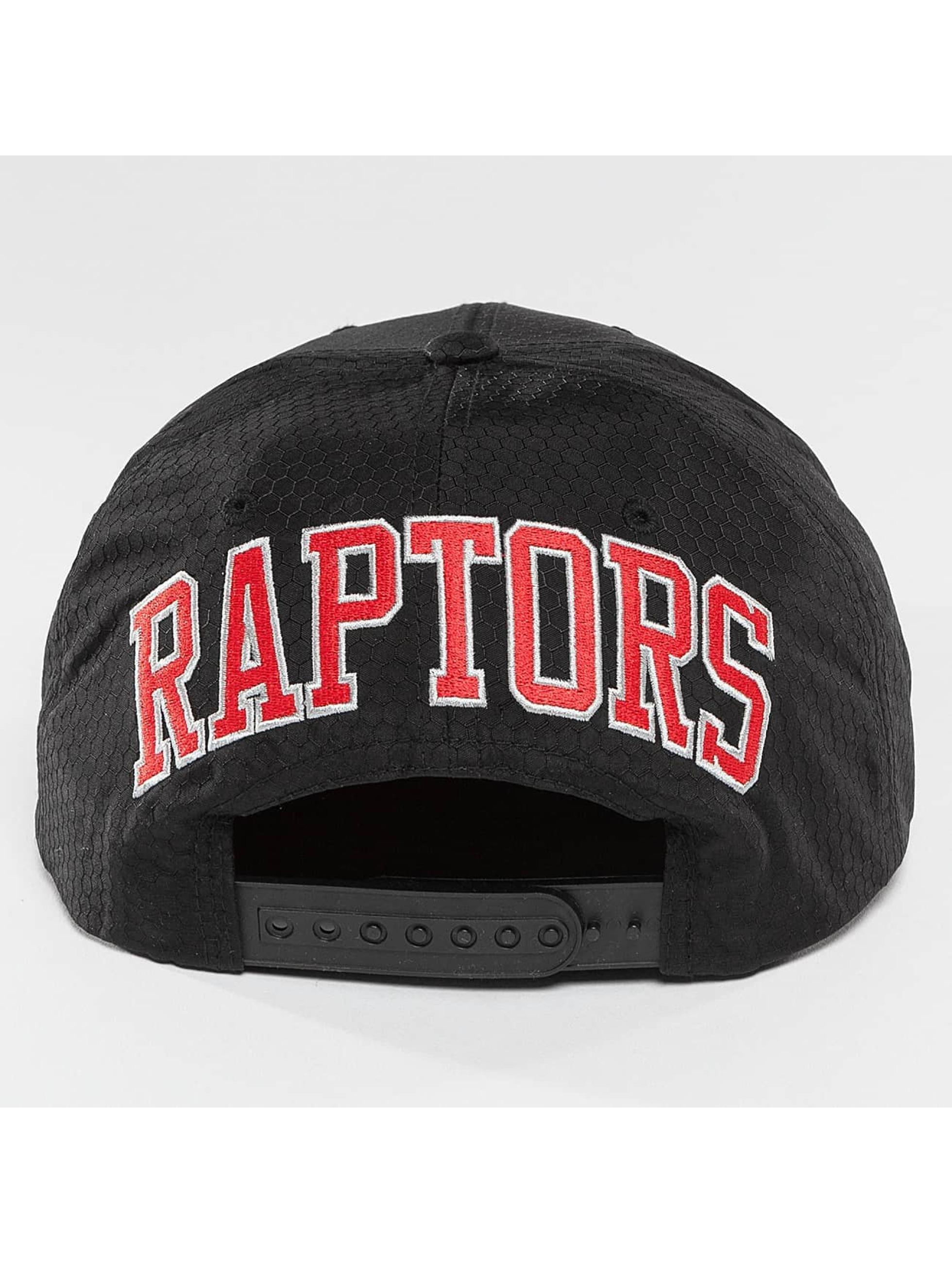 Mitchell & Ness Snapback NBA Black Ripstop Honeycomb Toronto Raptors èierna