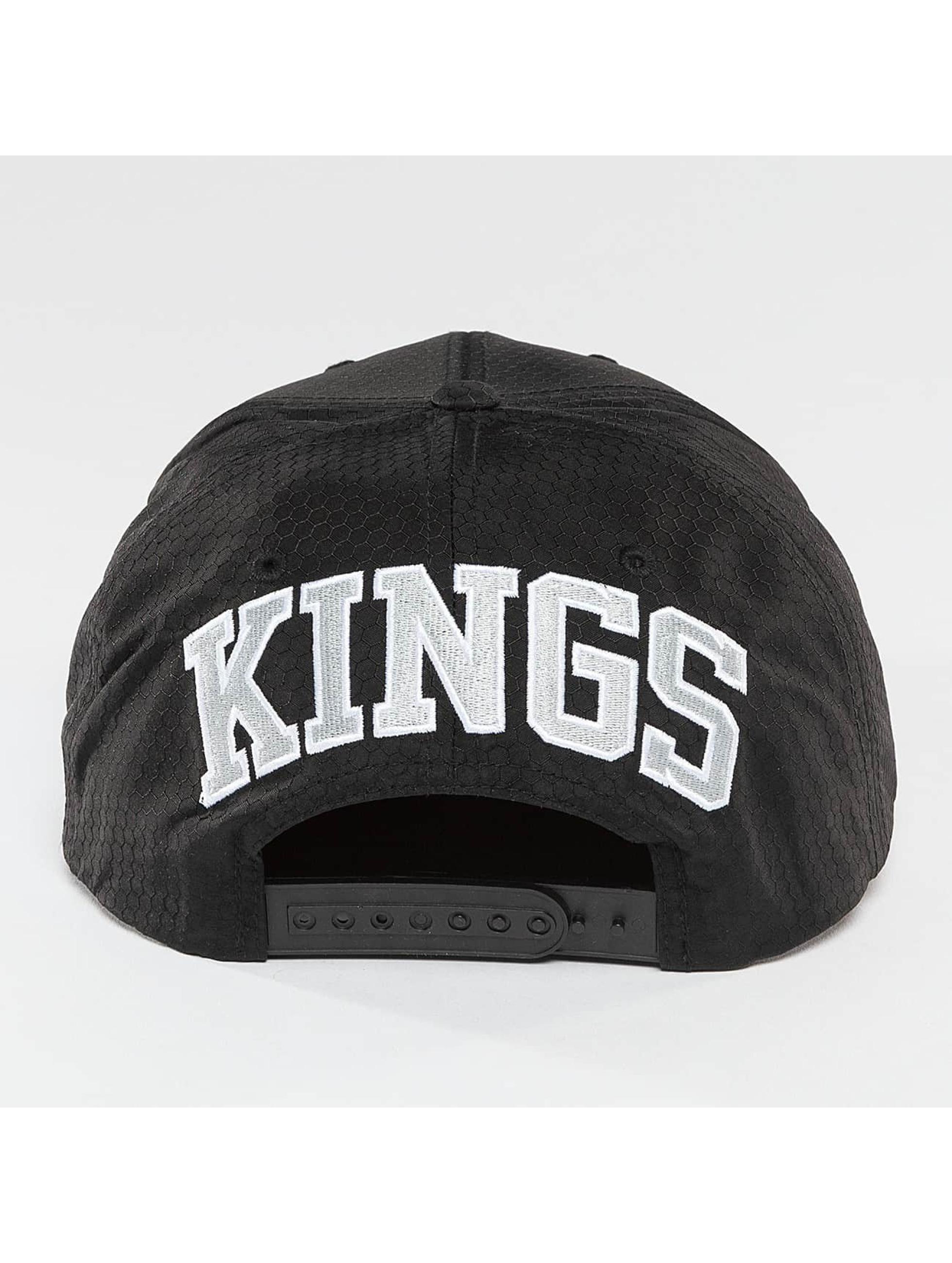 Mitchell & Ness Snapback NHL Black Ripstop Honeycomb LA èierna