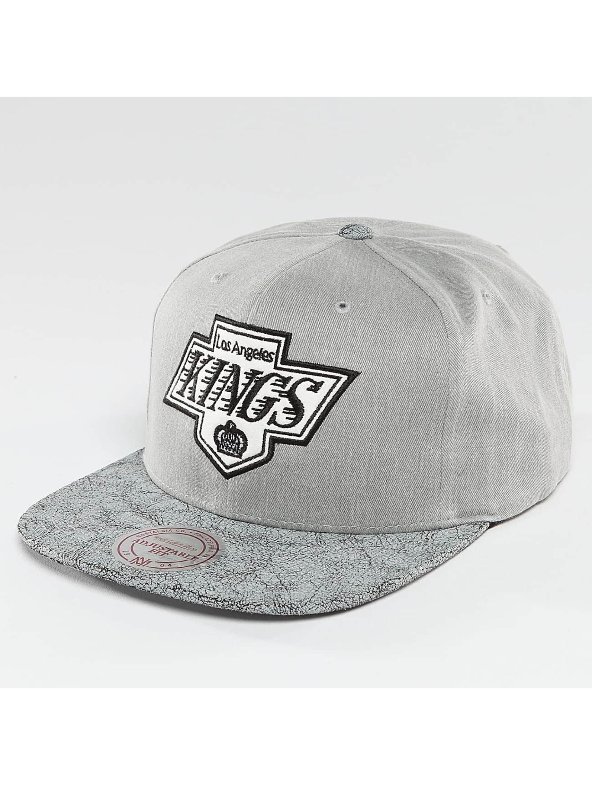 Mitchell & Ness Snapback NHL Cracked LA Kings šedá