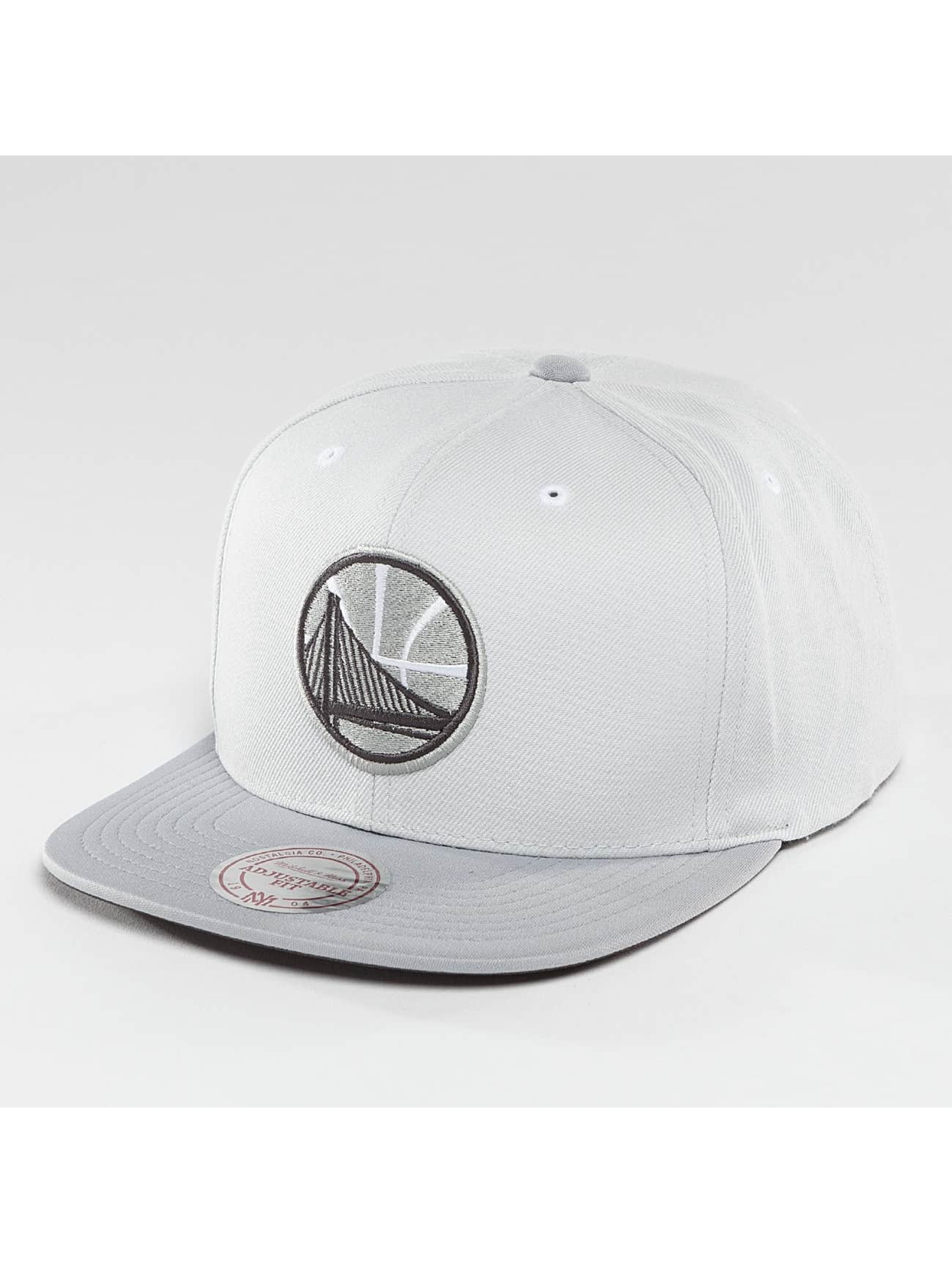 Mitchell & Ness Snapback Grey 2 Tone Plus Series Golden State Warriors šedá