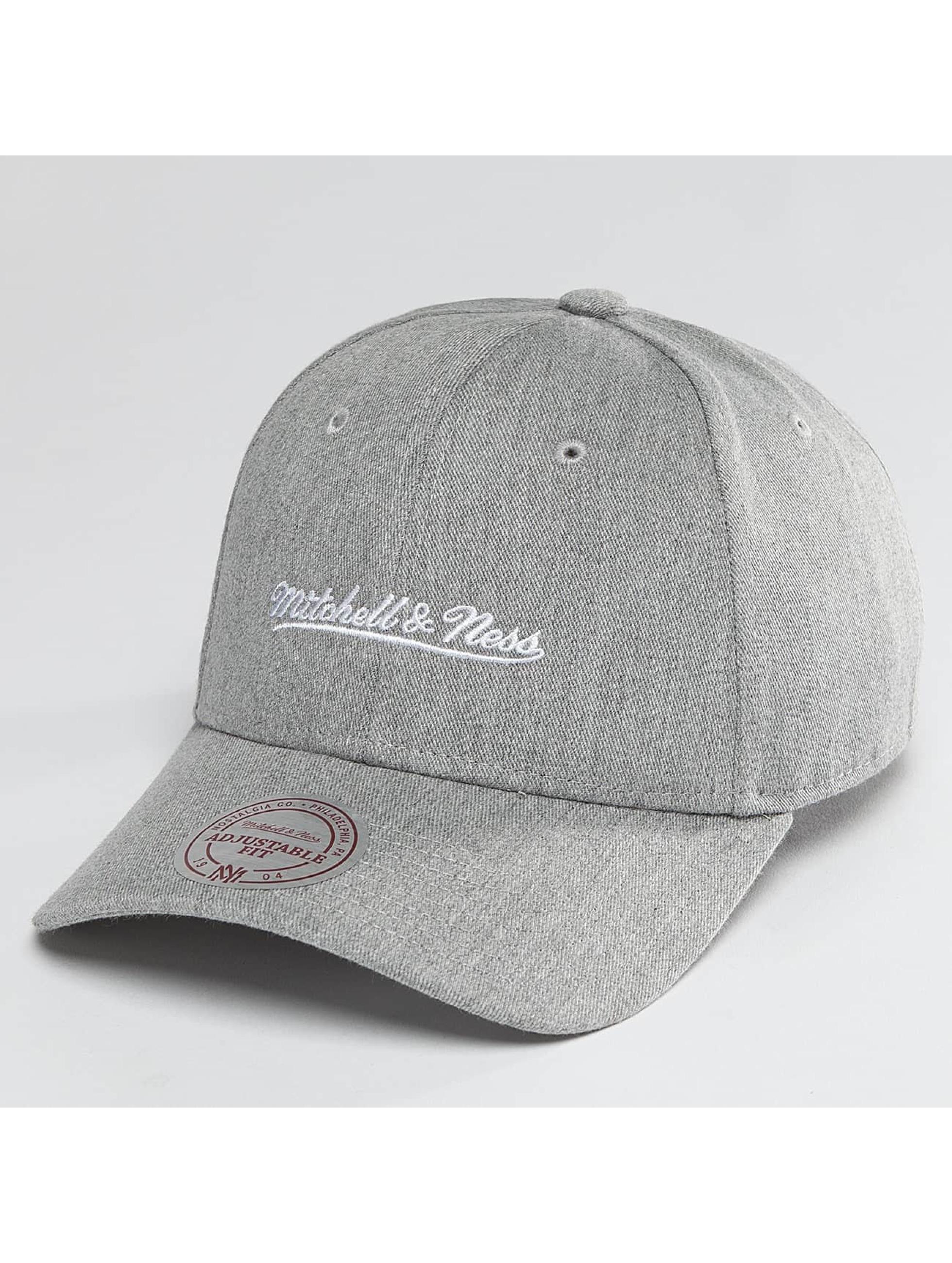 Mitchell & Ness Snapback Team Logo Low Pro šedá