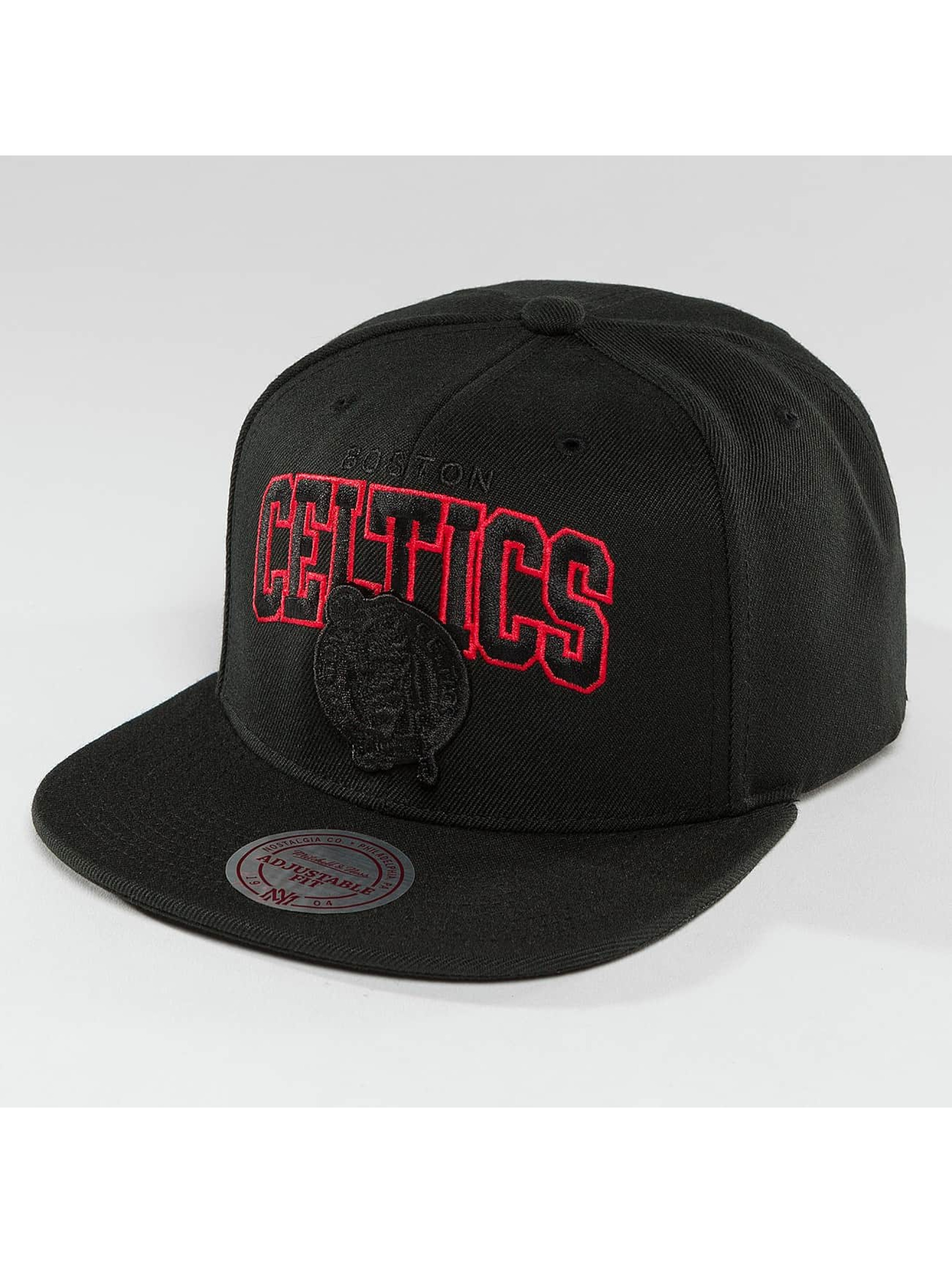Mitchell & Ness Snapback Cap Red Pop Boston Celtics black