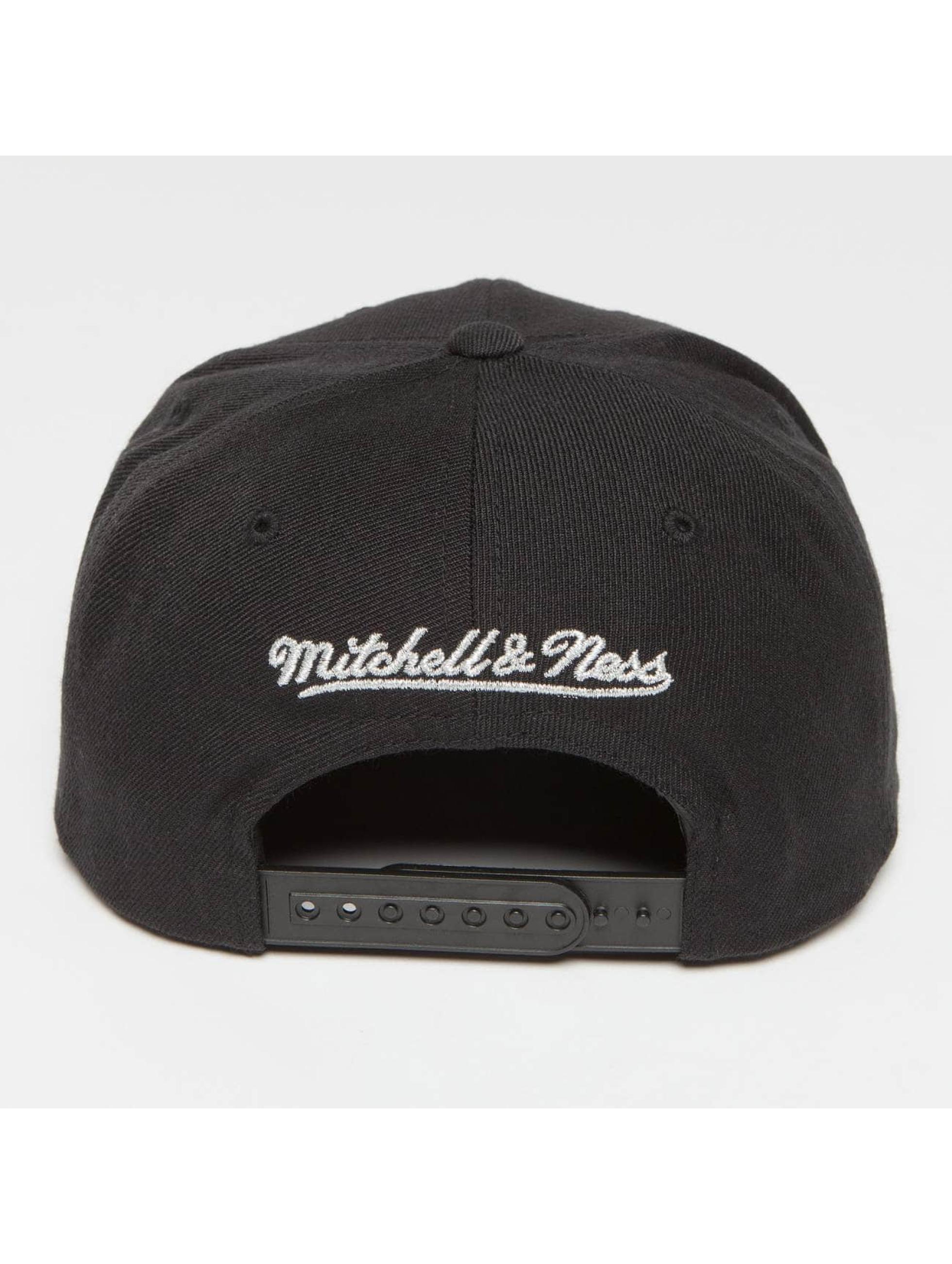 Mitchell & Ness Snapback Cap Woven TC NBA Boston black