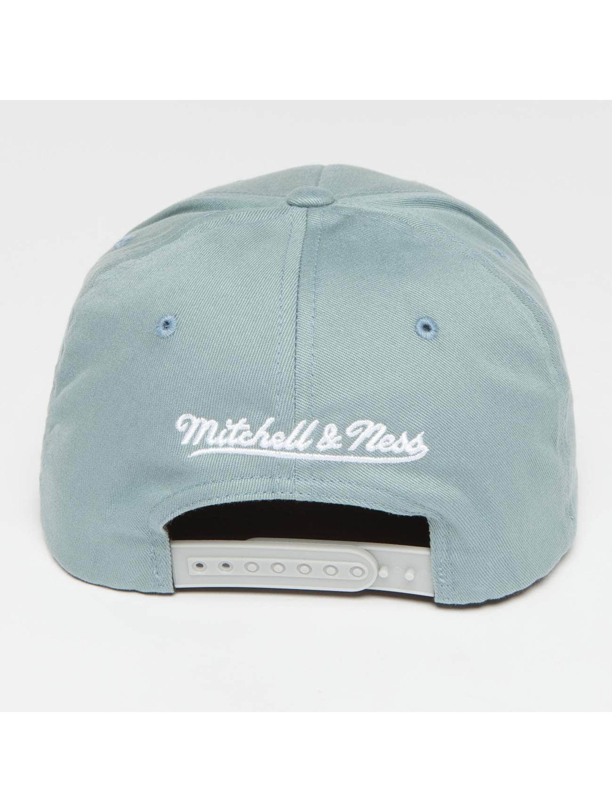 Mitchell & Ness Snapback Cap Own Brand Pinscript High Crown 110 blau