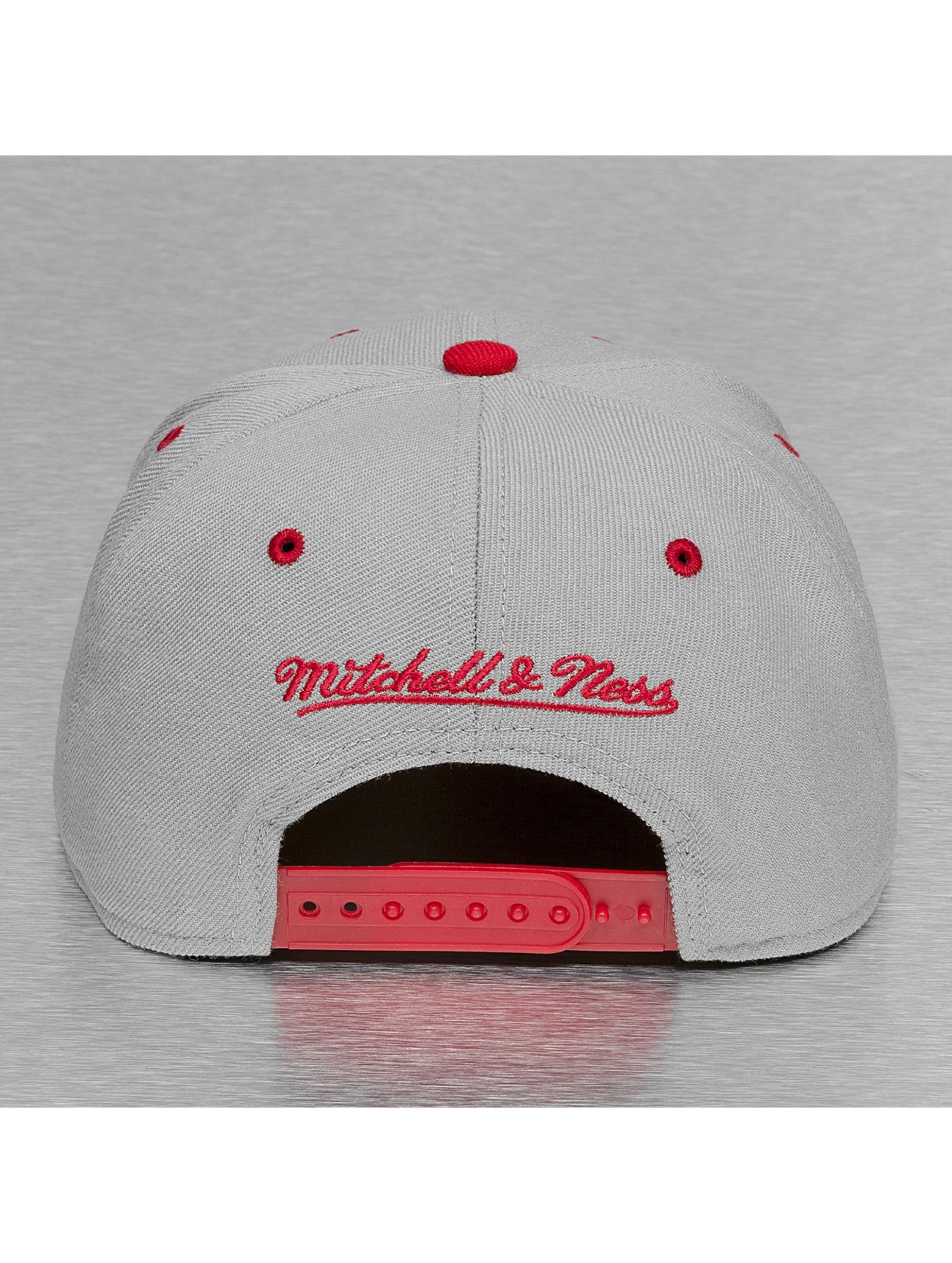 Mitchell & Ness Snapback Cap Team Arch 2 Tone Chicago Bulls grau