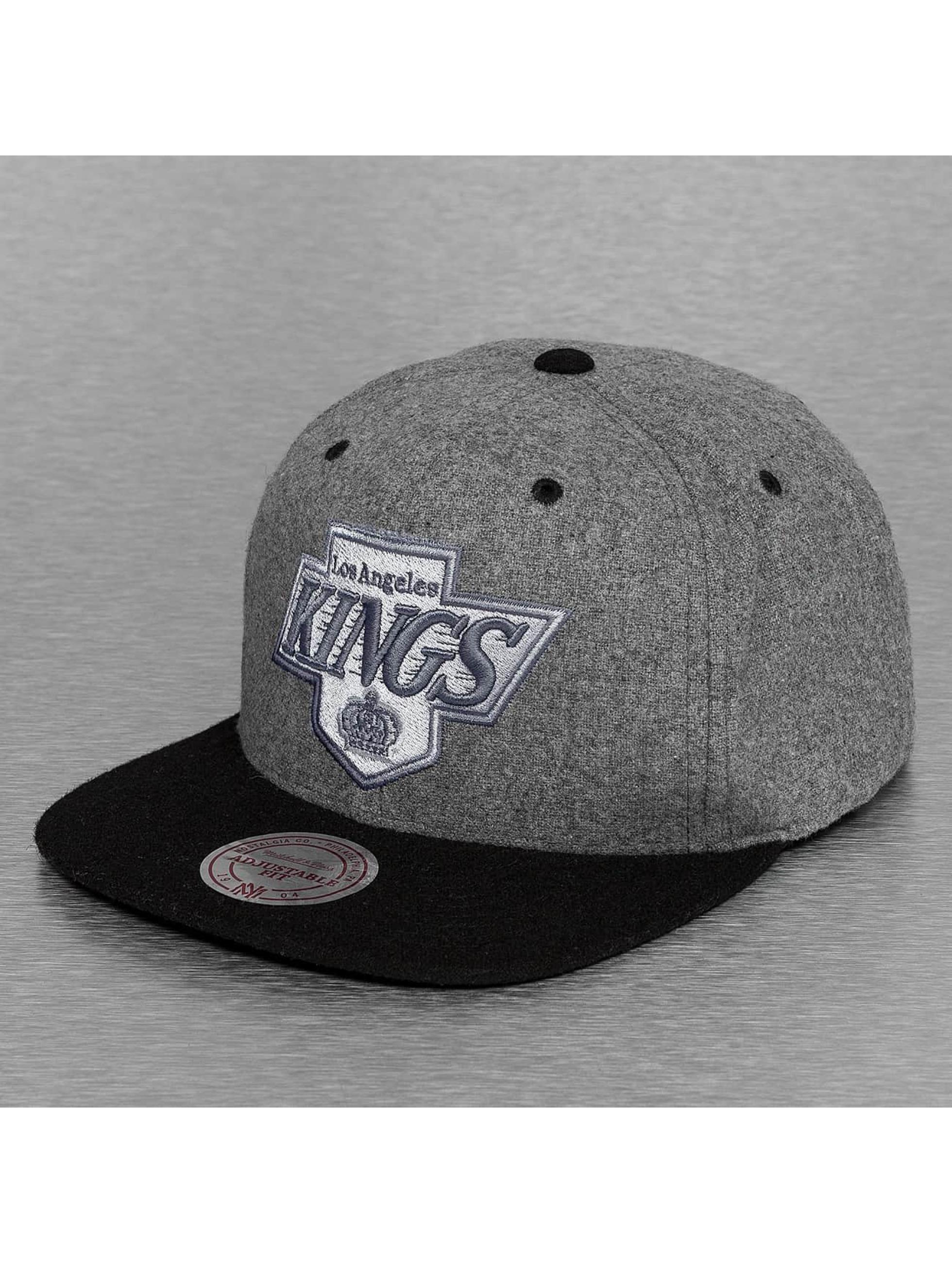 Mitchell & Ness Snapback Cap Greyton LA Kings grey