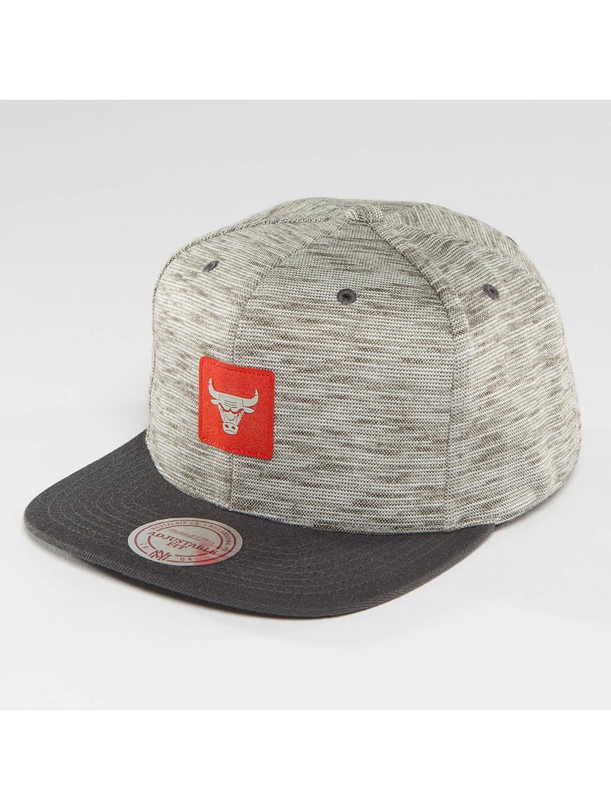 Mitchell & Ness Snapback Cap NBA Brushed Melange Chicago Bulls grey