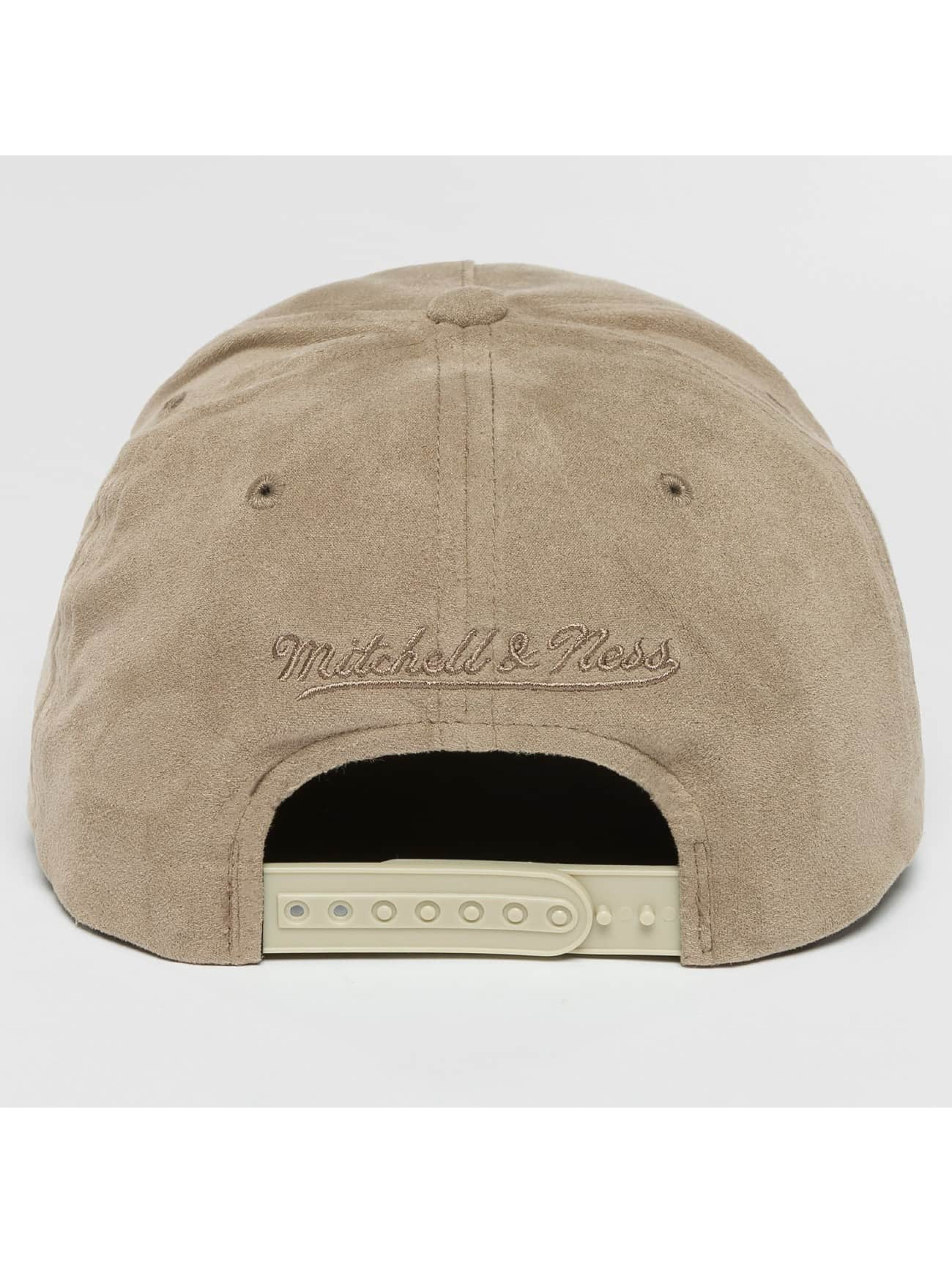 Mitchell & Ness snapback cap 110 Curved NBA Chicago Bulls Suede grijs