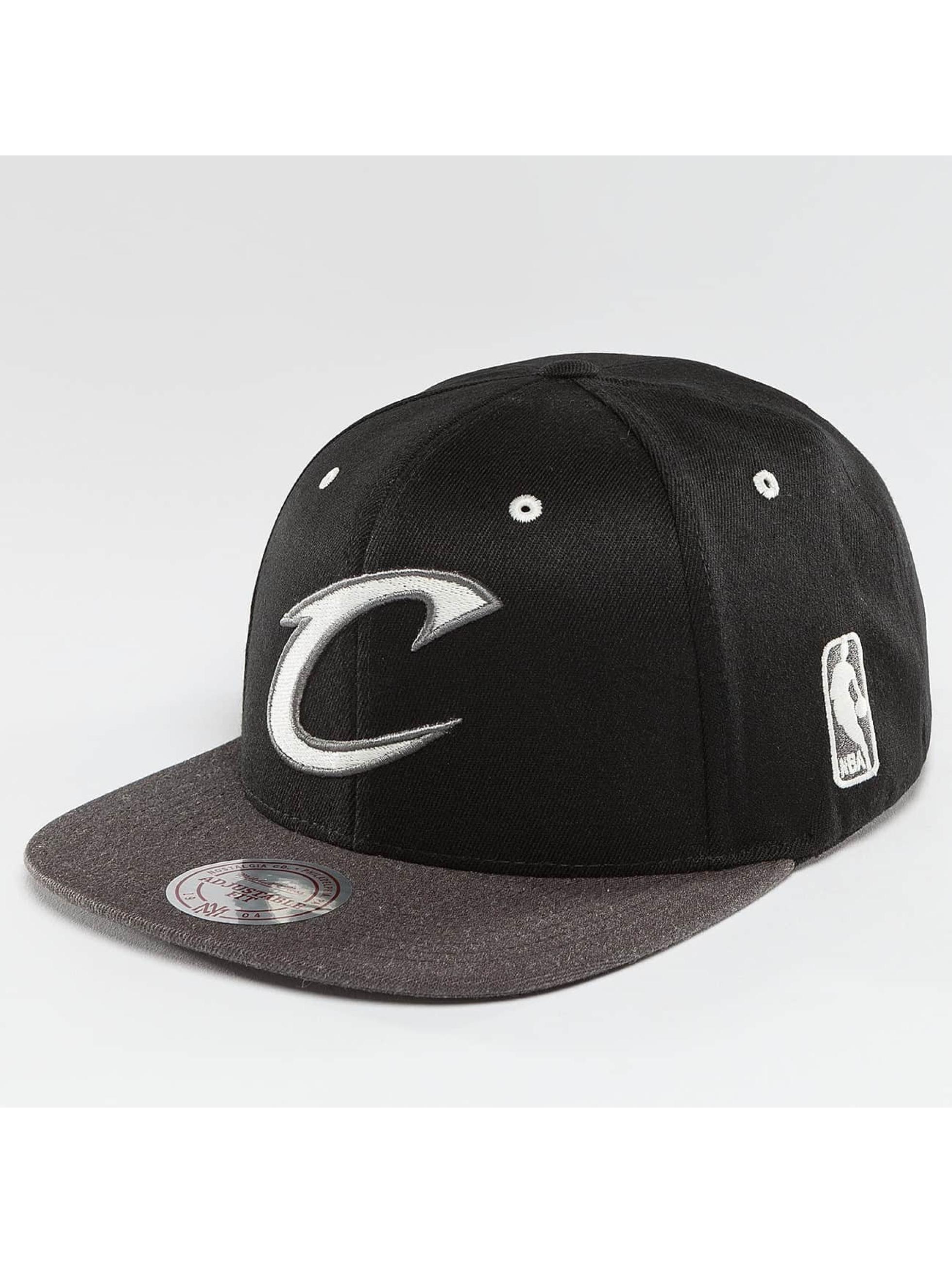 Mitchell & Ness Snapback Cap NBA 2-Tone Logo Cleveland Cavaliers nero