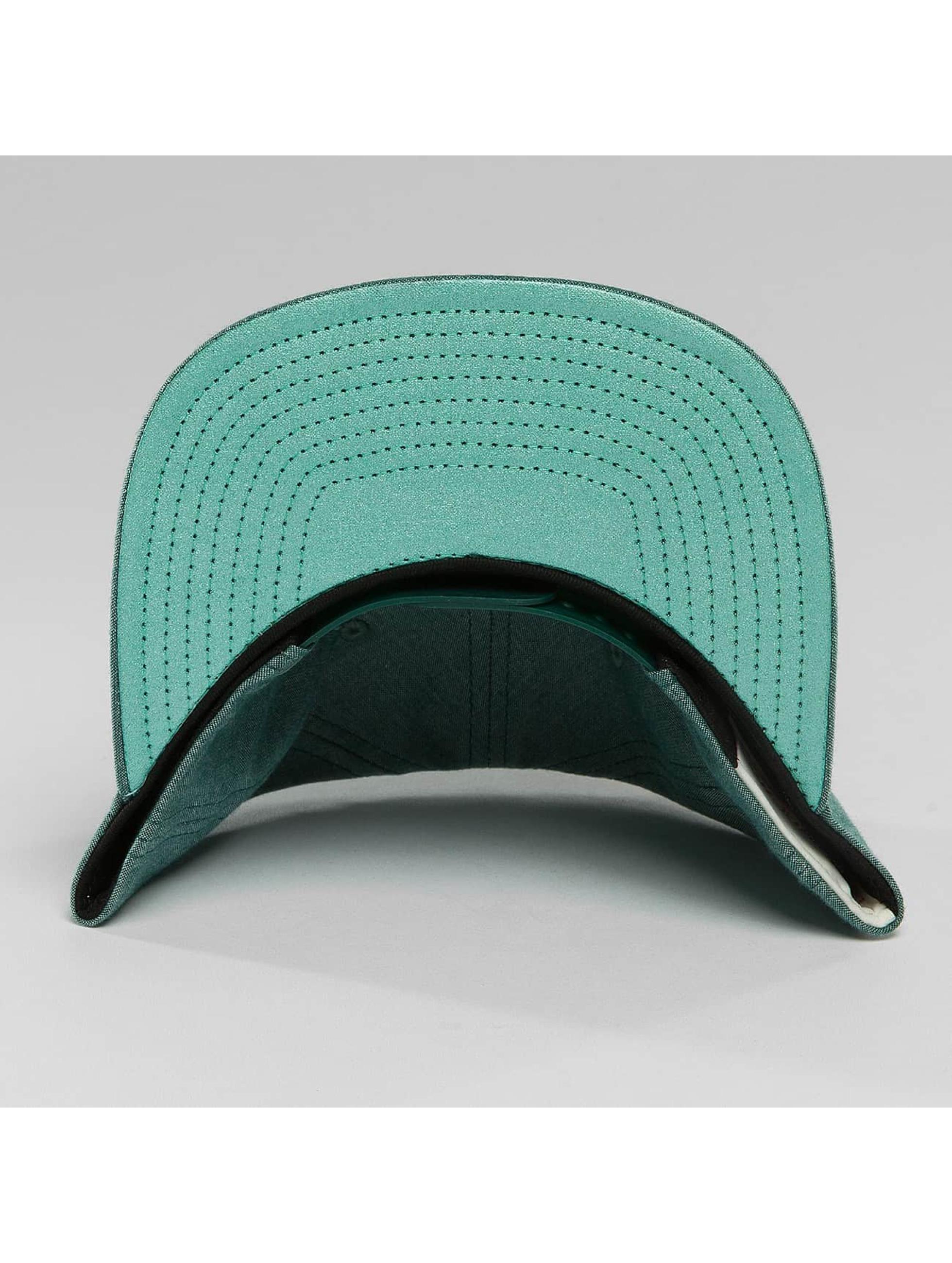 Mitchell & Ness snapback cap Italian Washed olijfgroen