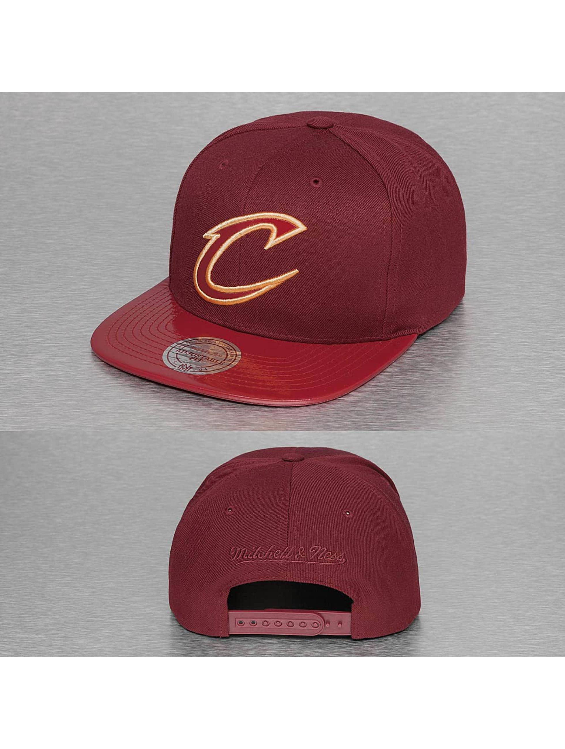 Mitchell & Ness Snapback Cap NBA Patent 2Tone Tonal Cleveland Cavaliers red