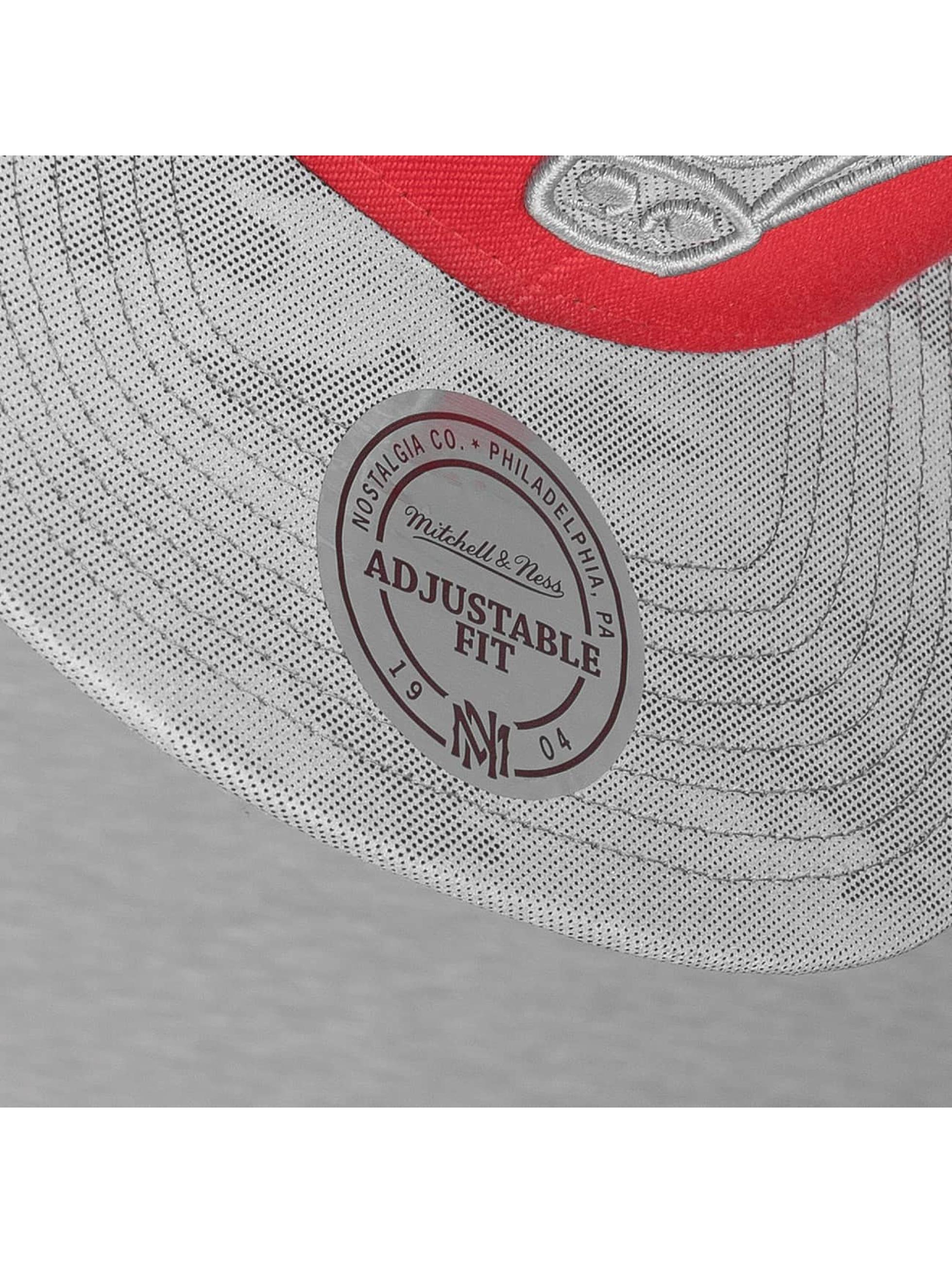 Mitchell & Ness Snapback Cap NBA Reflective Camo red