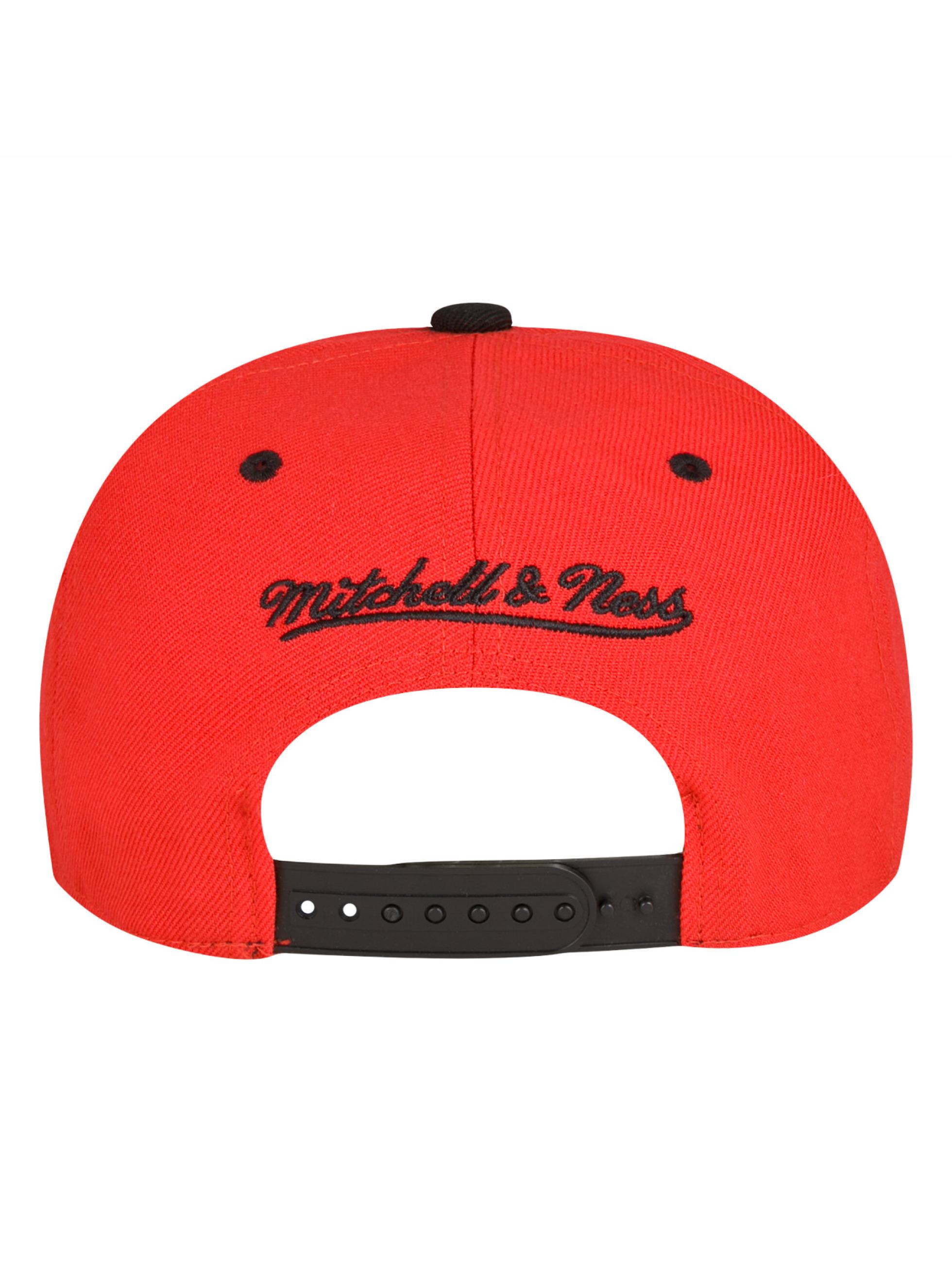 Mitchell & Ness snapback cap Chicago Bulls rood