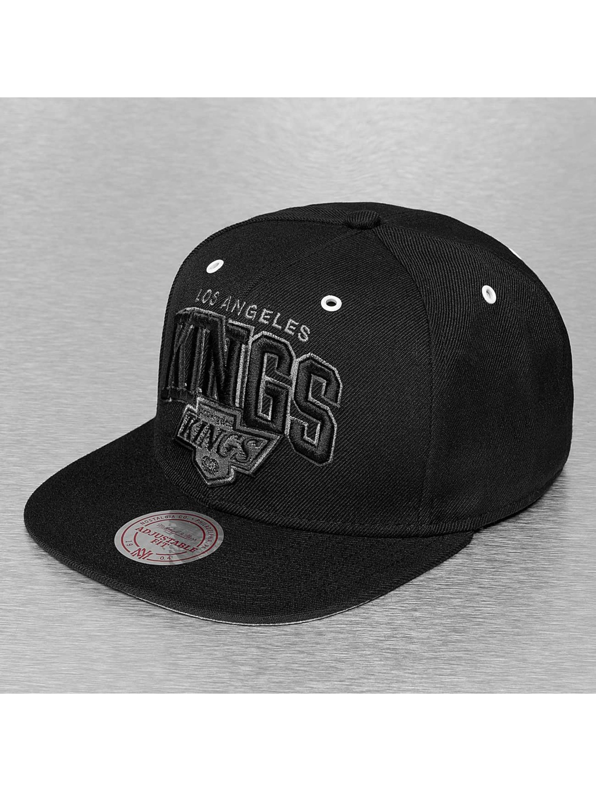 Mitchell & Ness Snapback Cap BGW LA Kings schwarz