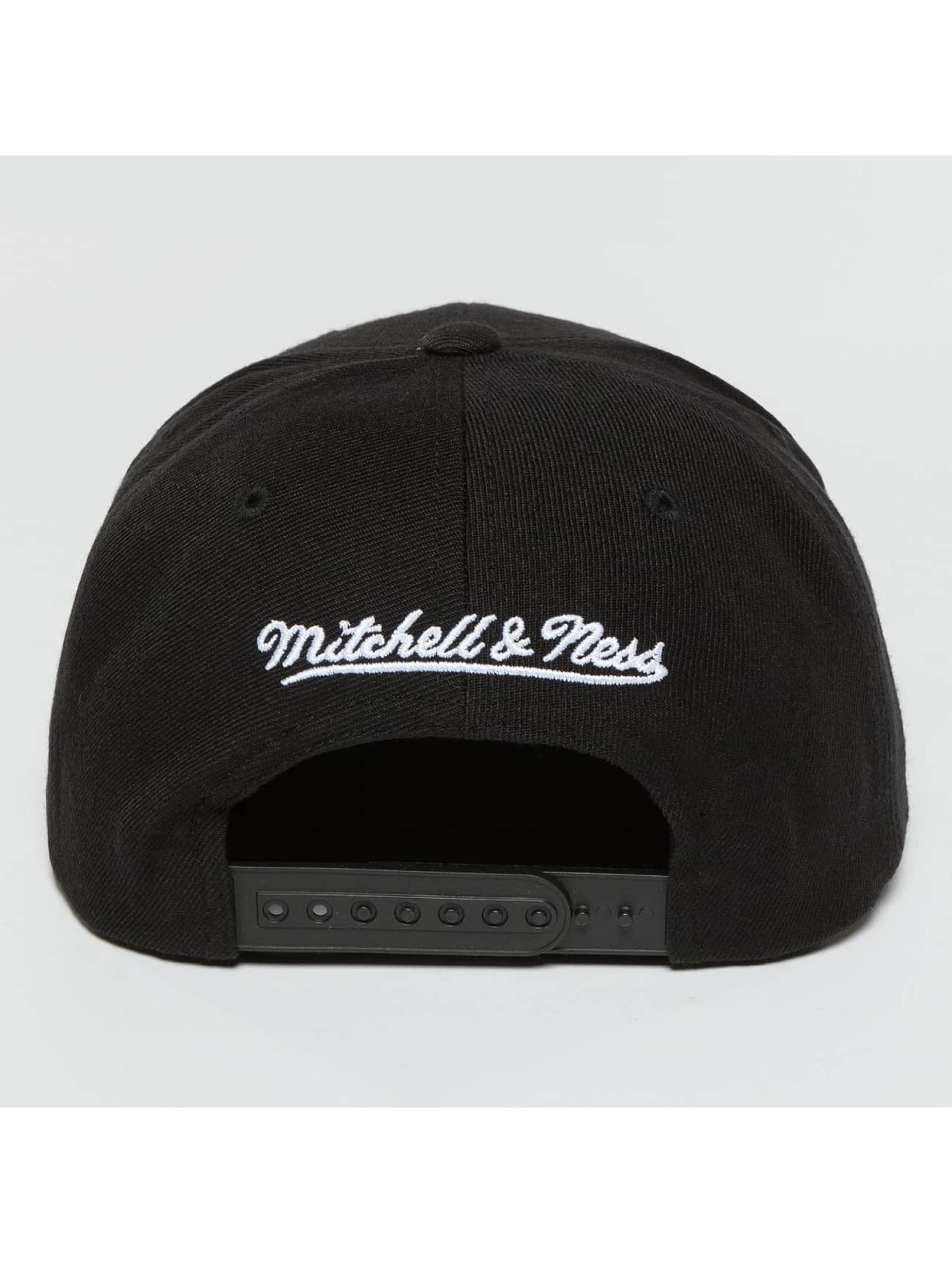Mitchell & Ness Snapback Cap Full Dollar Golden State Warriors schwarz