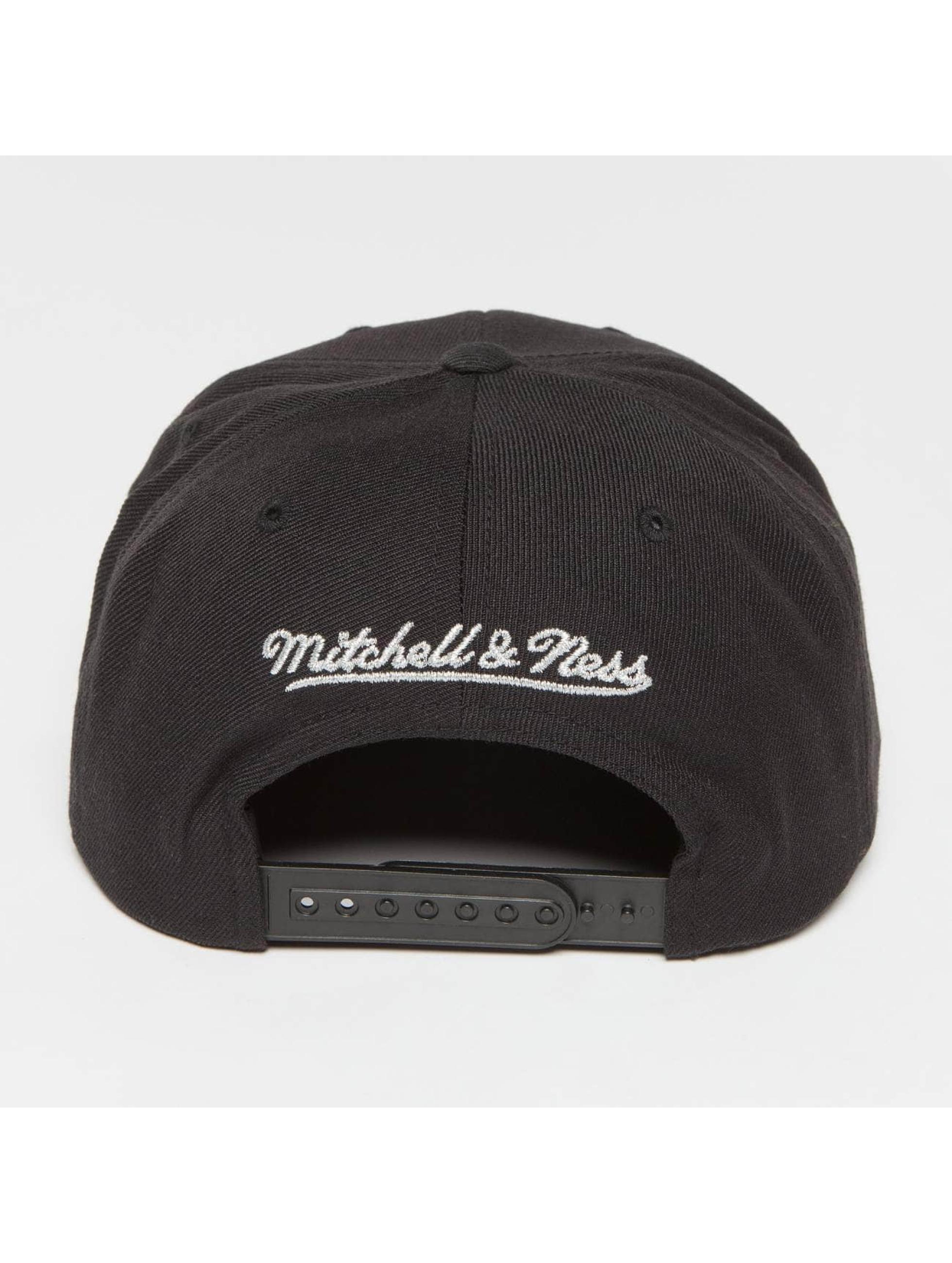 Mitchell & Ness Snapback Cap Own Brand Woven TC schwarz