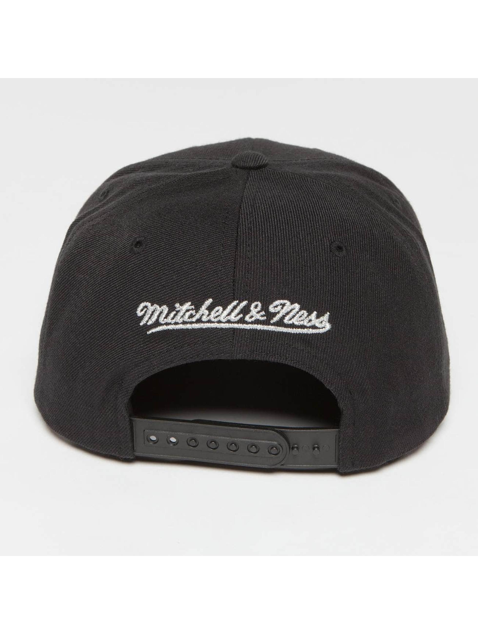 Mitchell & Ness Snapback Cap Woven TC NBA Golden State Warriors schwarz