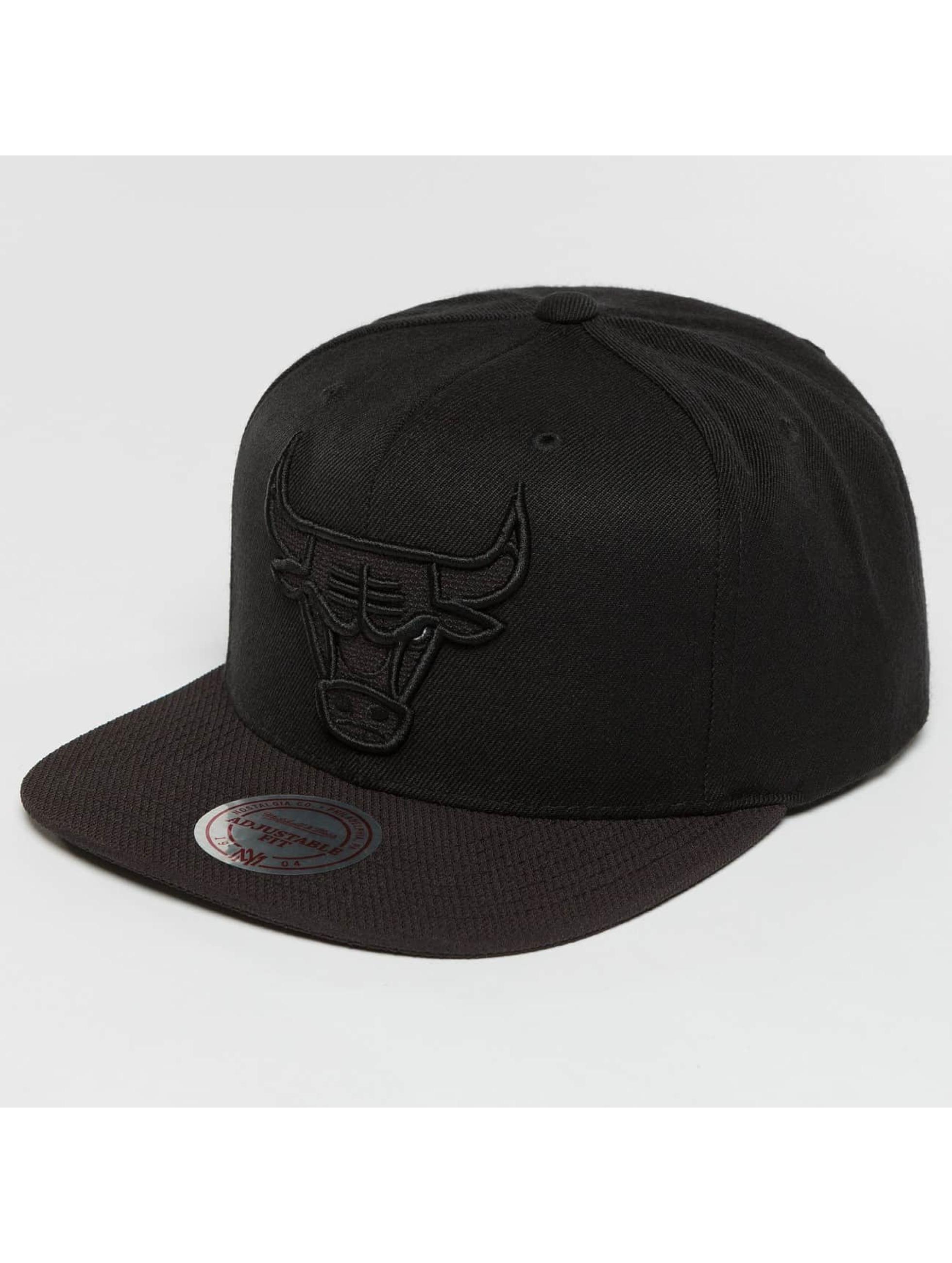 Mitchell & Ness Snapback Caps Full Dollar Chicago Bulls čern